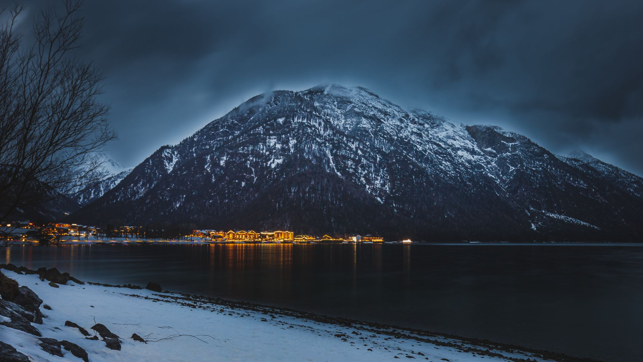 Lights of Pertisau, Austria