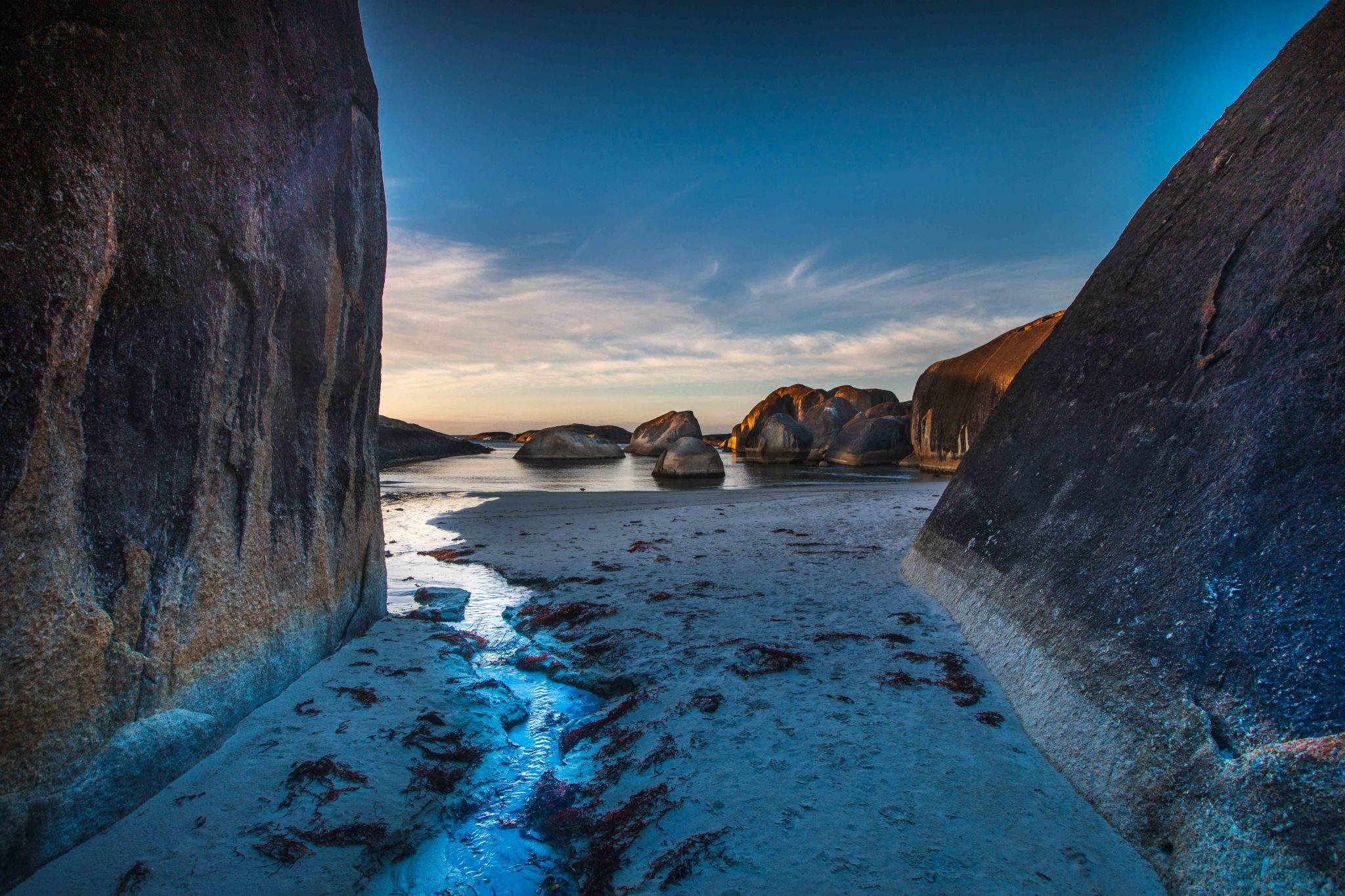 Looking toward Elephant Rocks, Denmark Western Australia, Australia