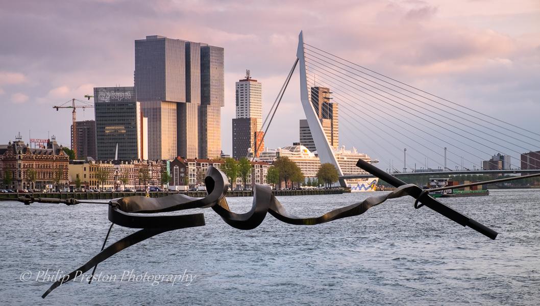 Maasbeeld Sculpture, Rotterdam, The Netherlands, Netherlands