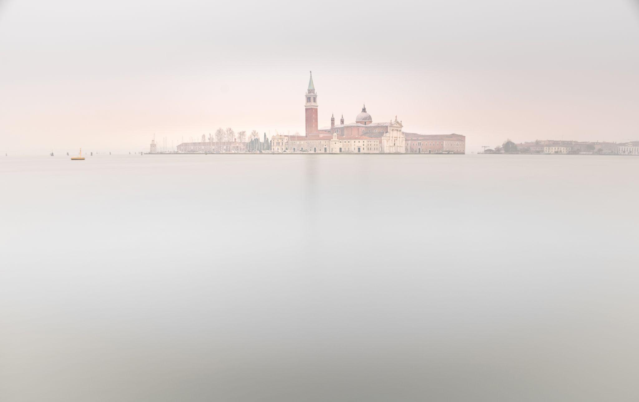 Milky morning in Venetian Lagoon, Italy