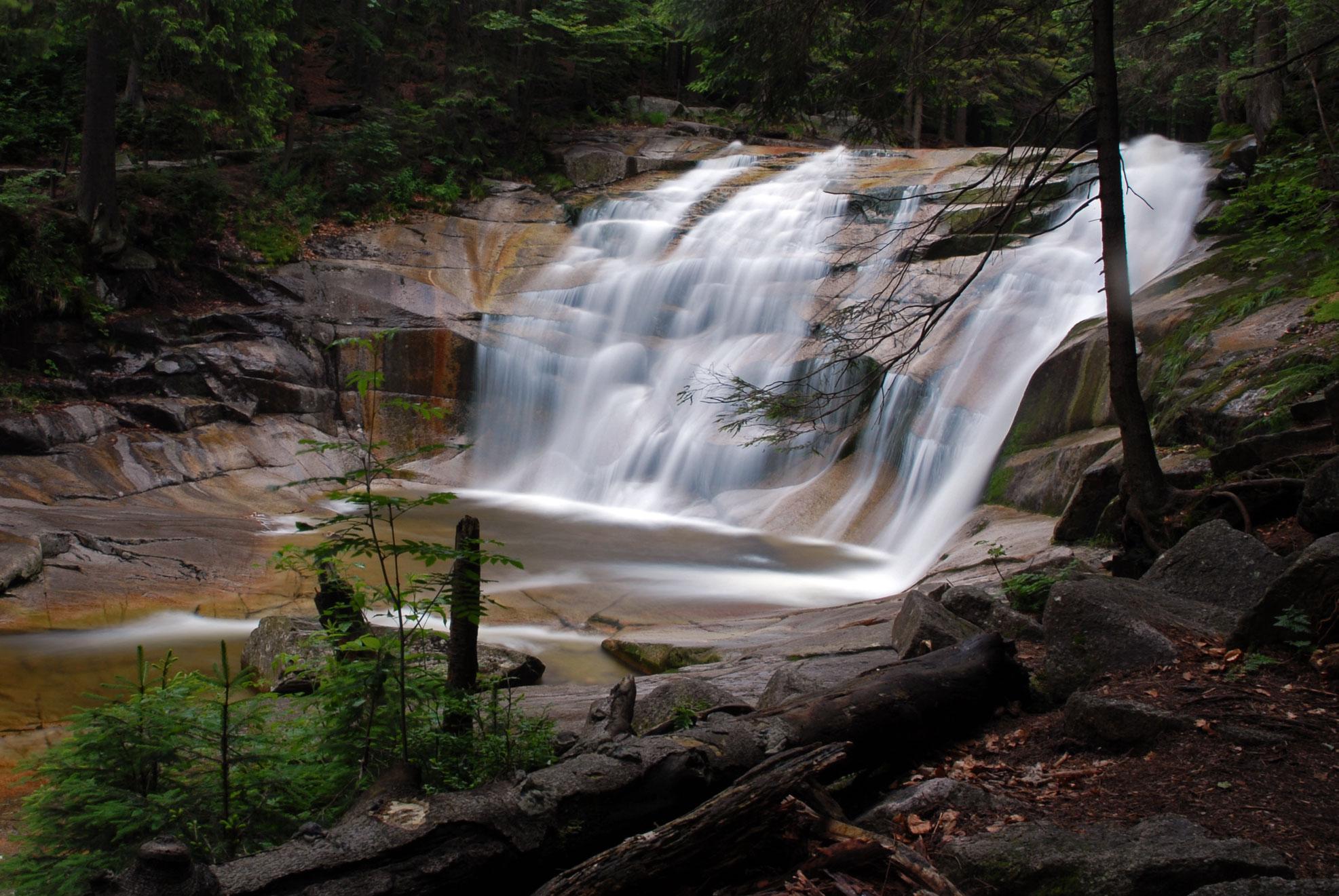 Mumlava waterfall, Harrachov, Czech Republic, Czech Republic