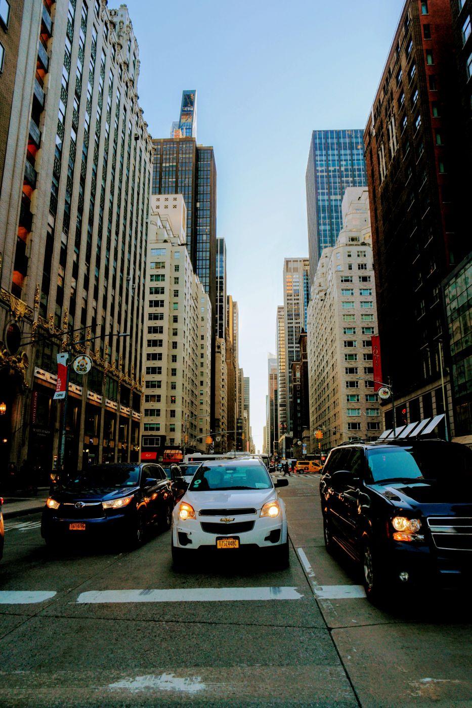 NYC 6th Avenue 58th street, USA