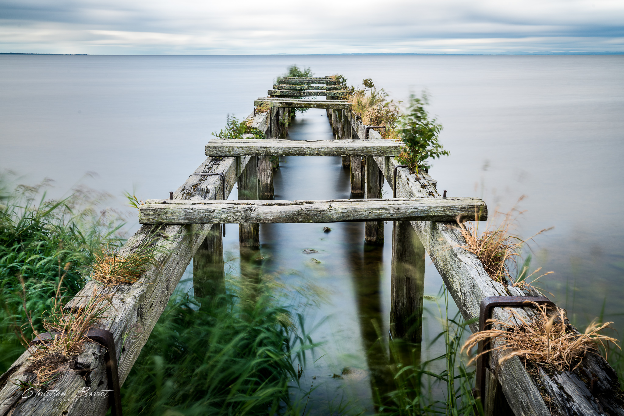 Old jetty at Lough Neagh, United Kingdom