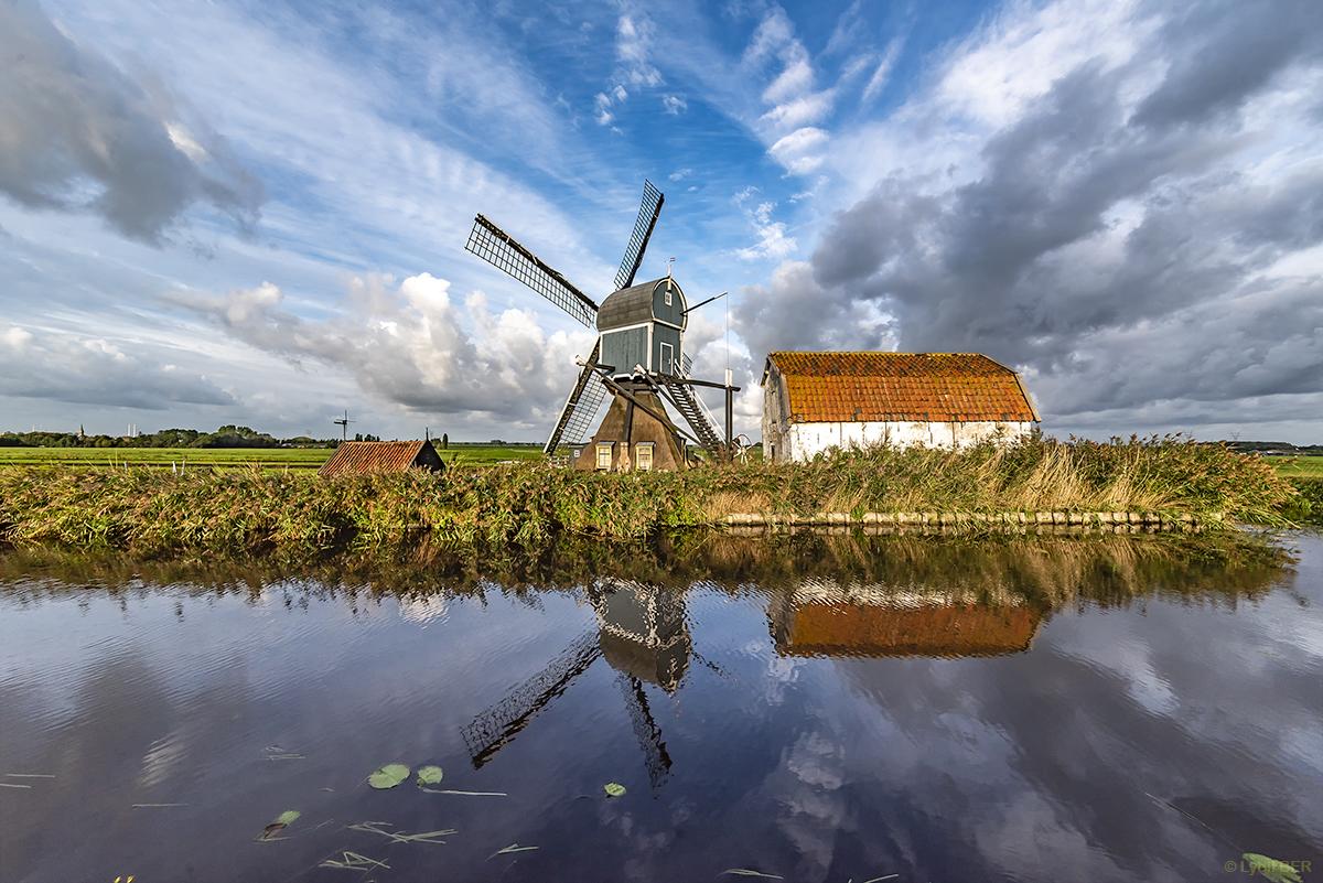 Oostvaart Windmill, Netherlands