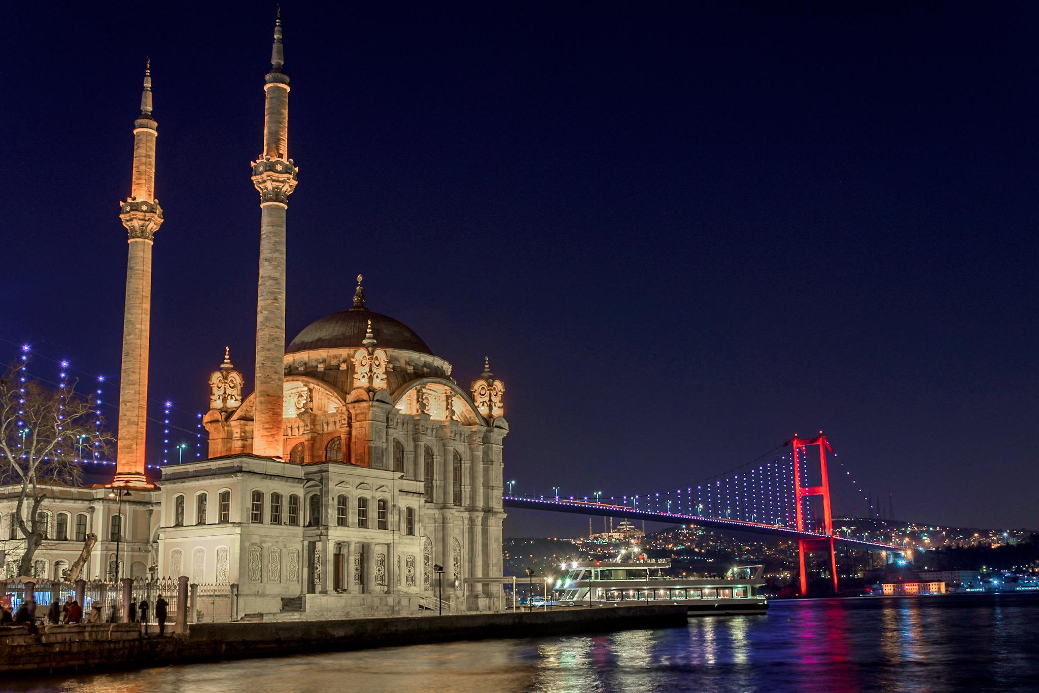 Ortaköy Mosque and Bridge, Turkey