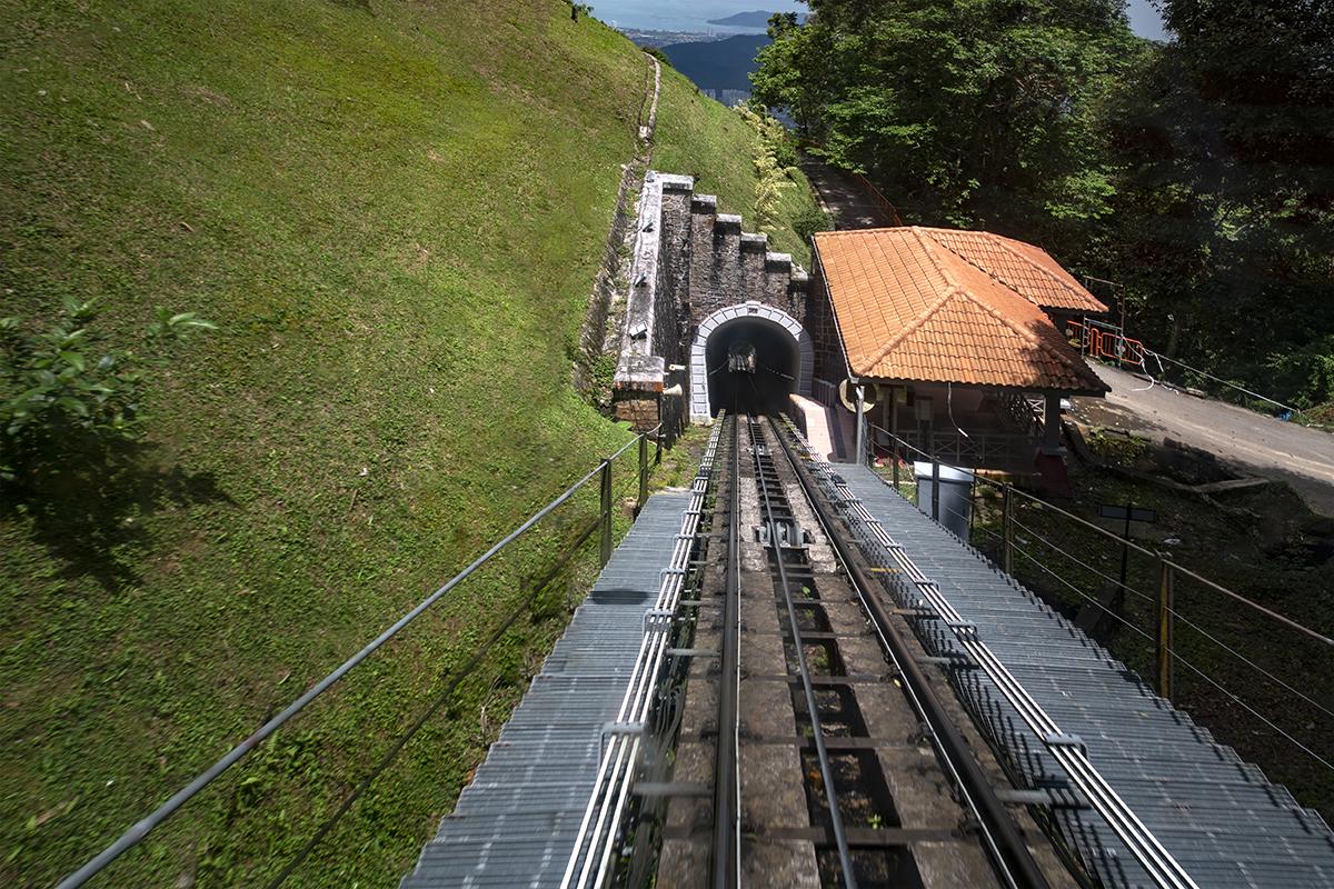 Penang Hill cable car, Malaysia