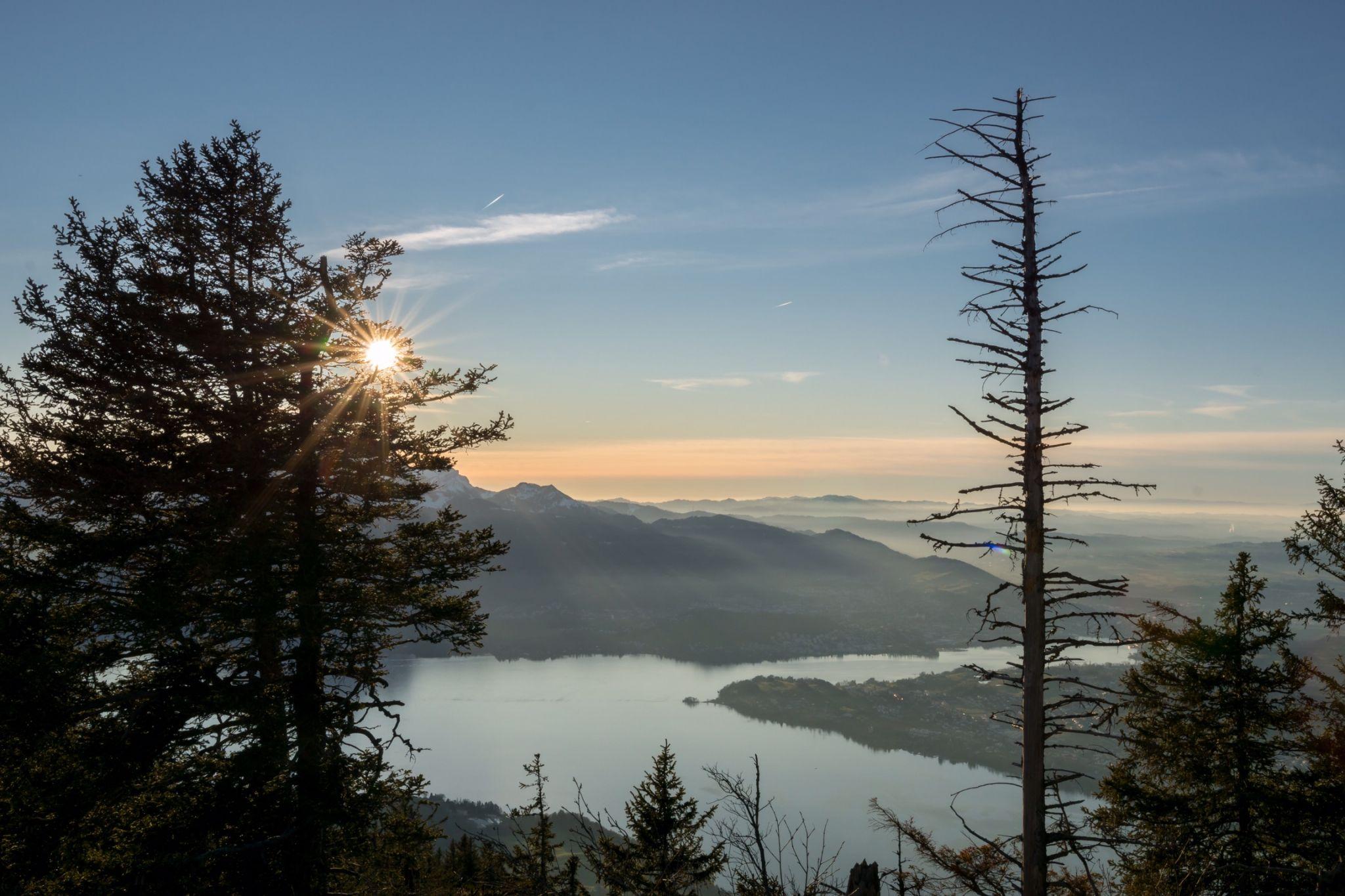 Rigi view, Switzerland