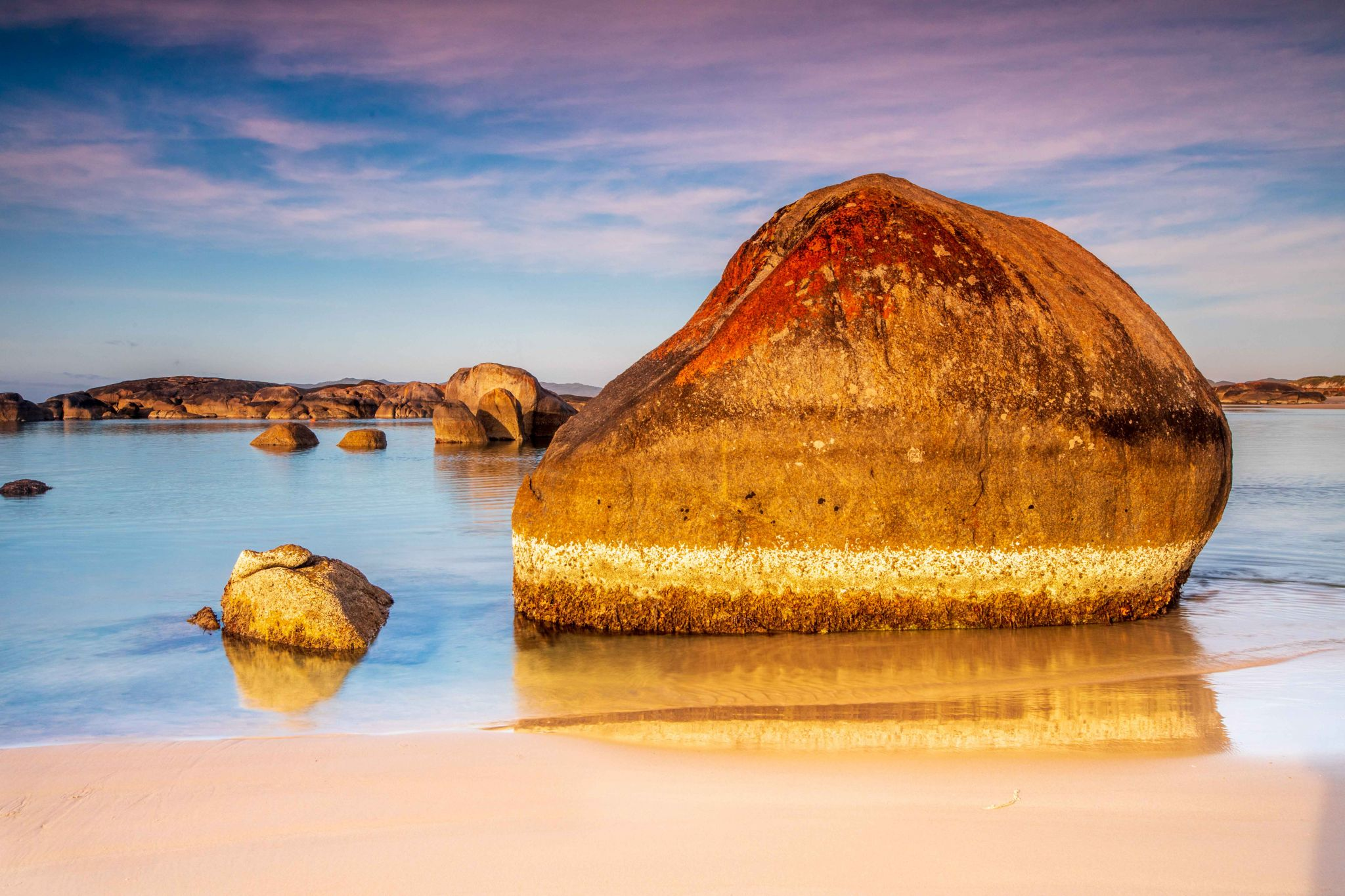 Rock, Greens Pool, Denmark, Western Australia, Australia