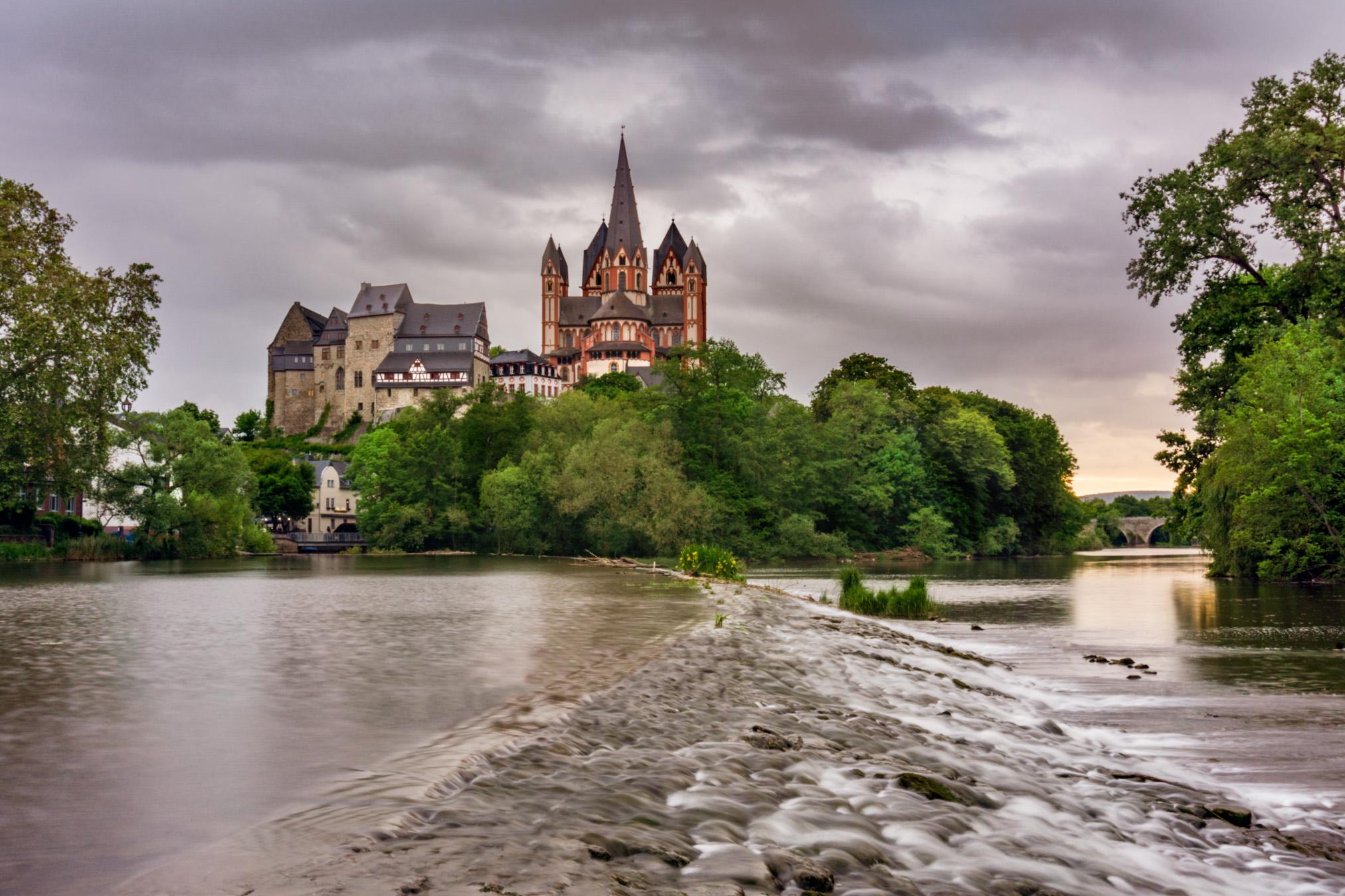 Schleuseninsel Limburg an der Lahn, Germany