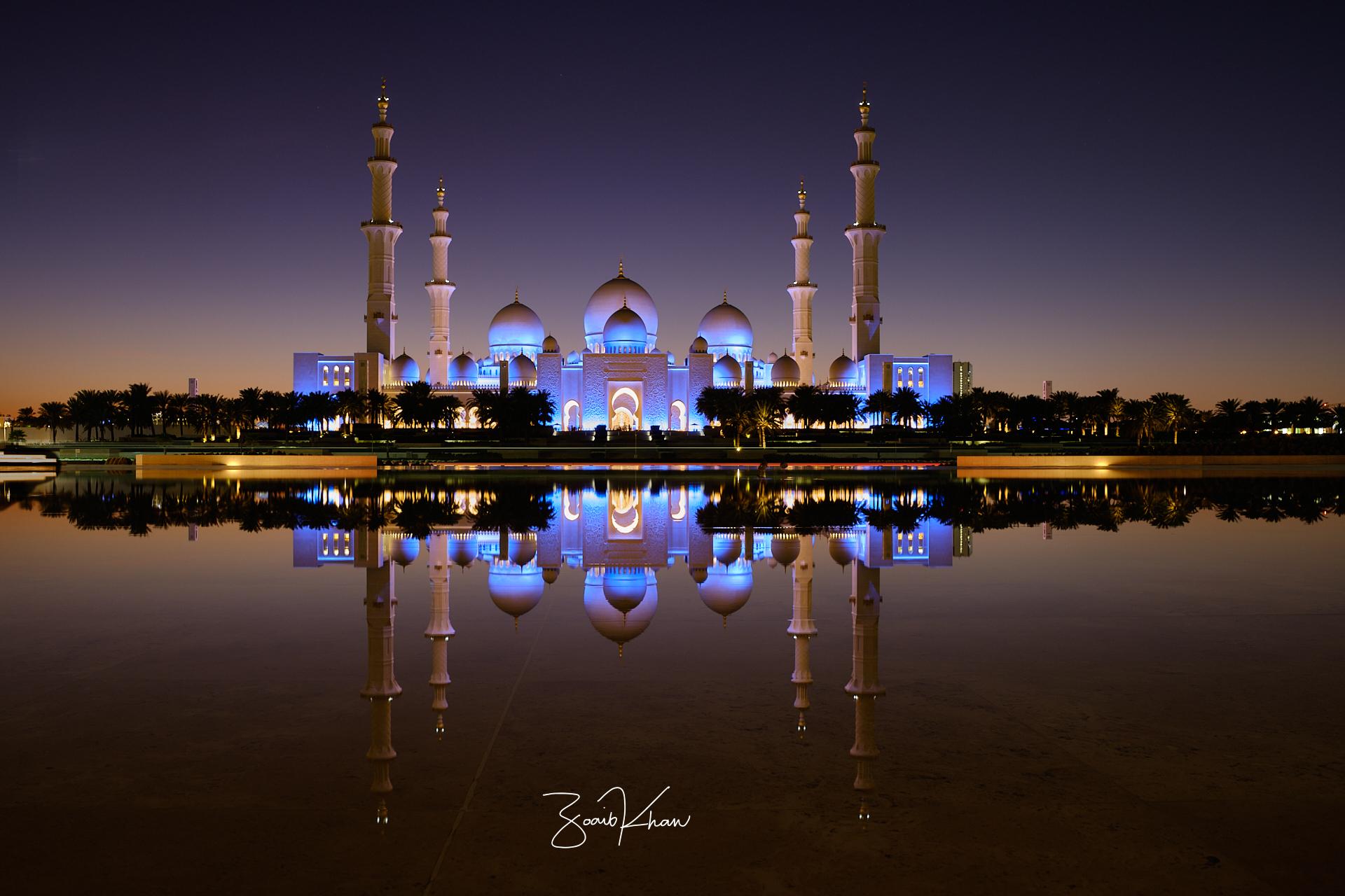 Shaikh Zayed Grand Mosque, United Arab Emirates