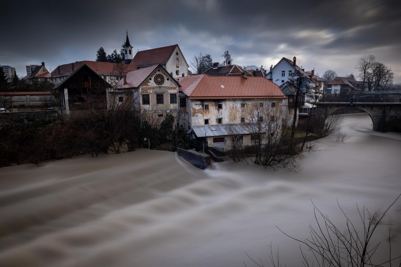 Škofja Loka - Selška Sora river, Slovenia