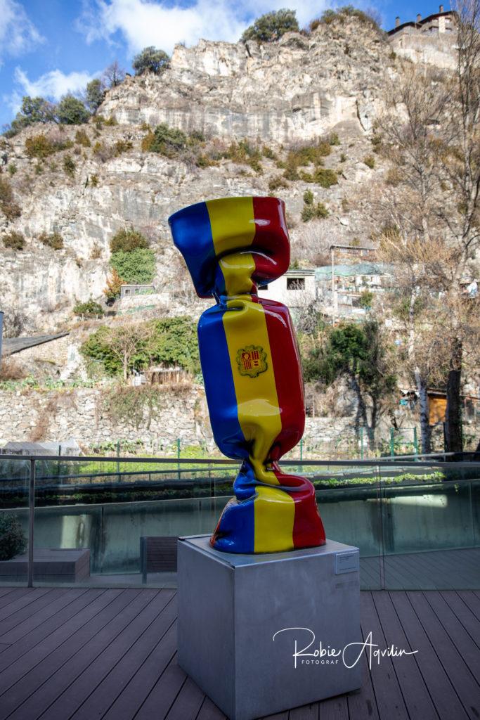 Streets of Andorra La Vella, Andorra