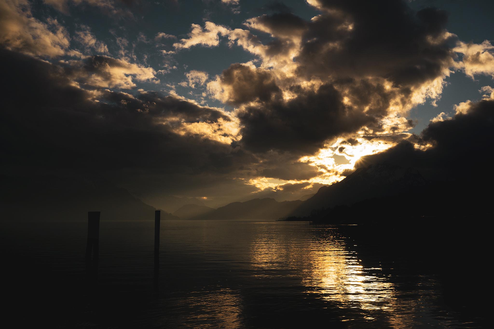 Sunset, Switzerland