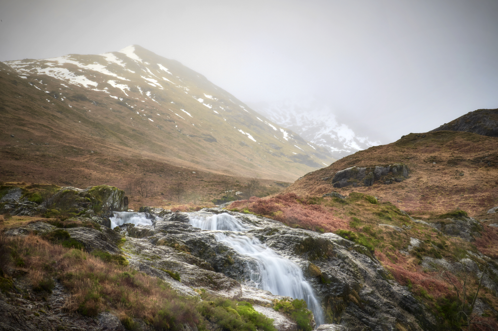 The Meeting of Three Waters Waterfall, United Kingdom