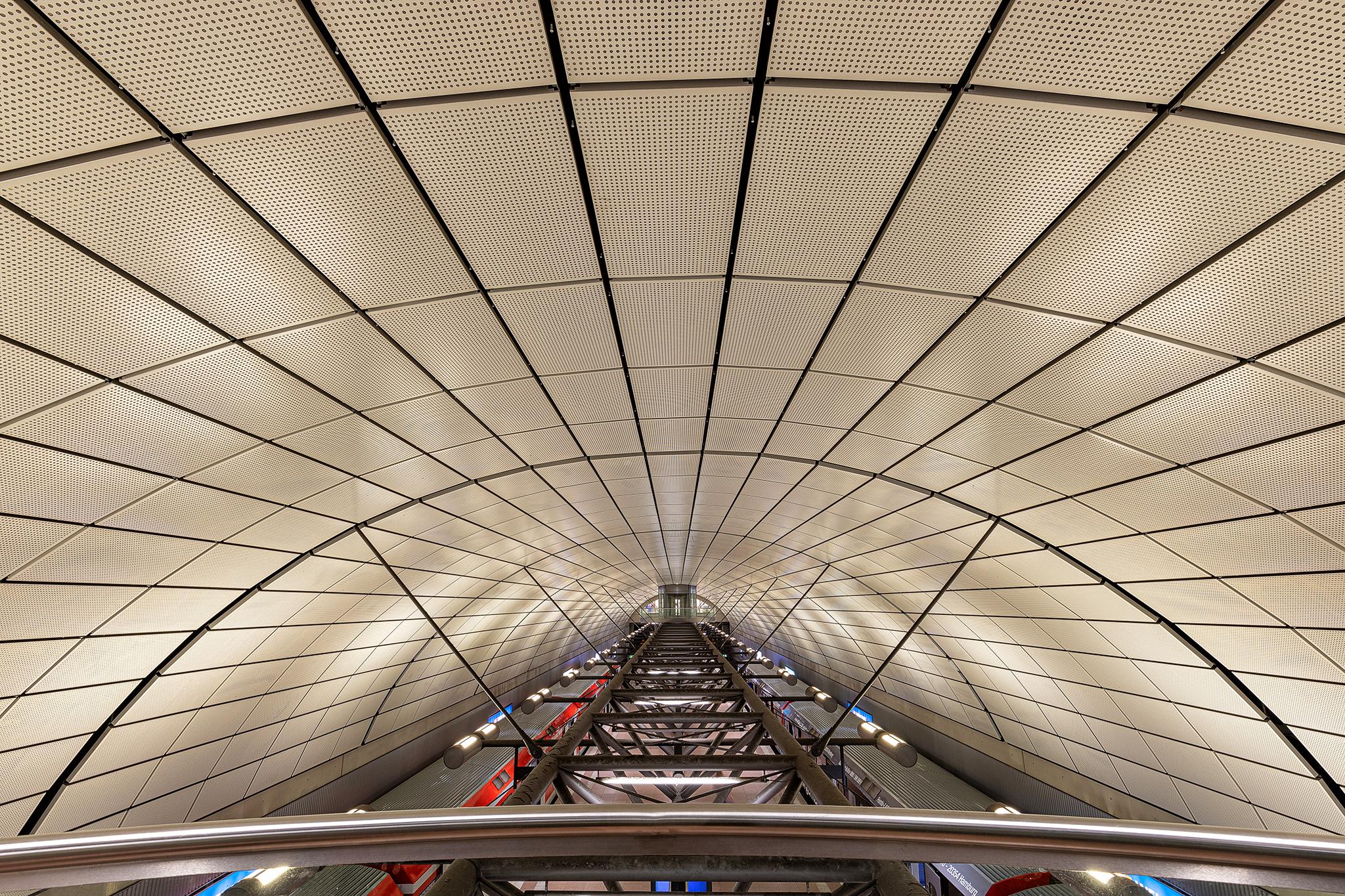 Train-Station Hamburg Airport, Germany