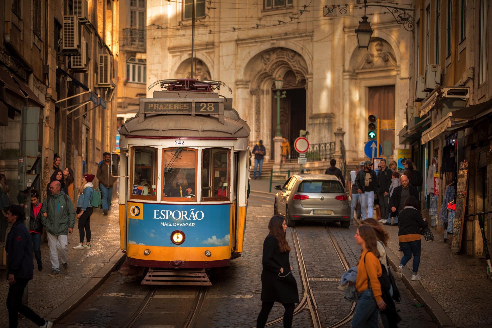 Tram No. 28, Portugal