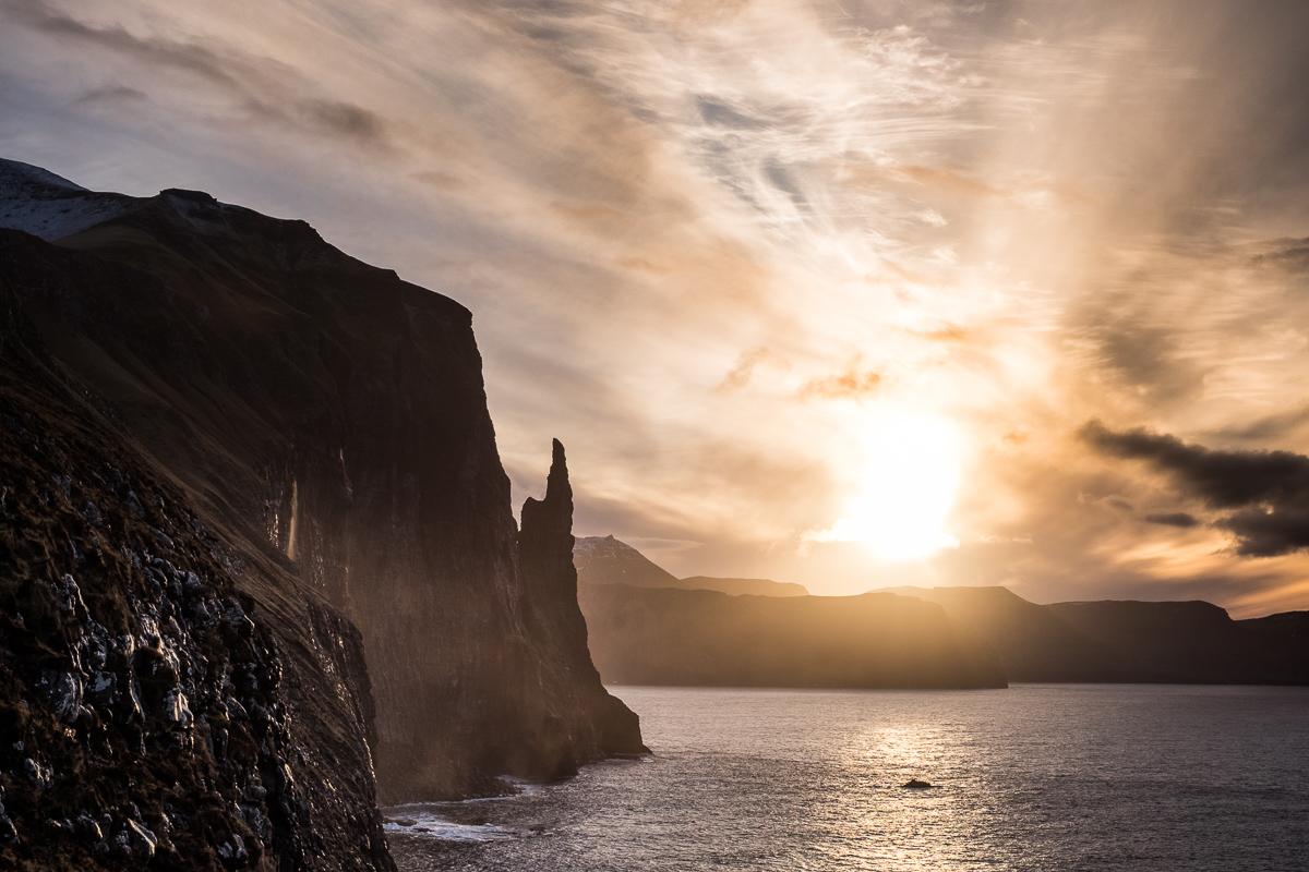 Trøllkonufingur, Vágar, Faroe Islands