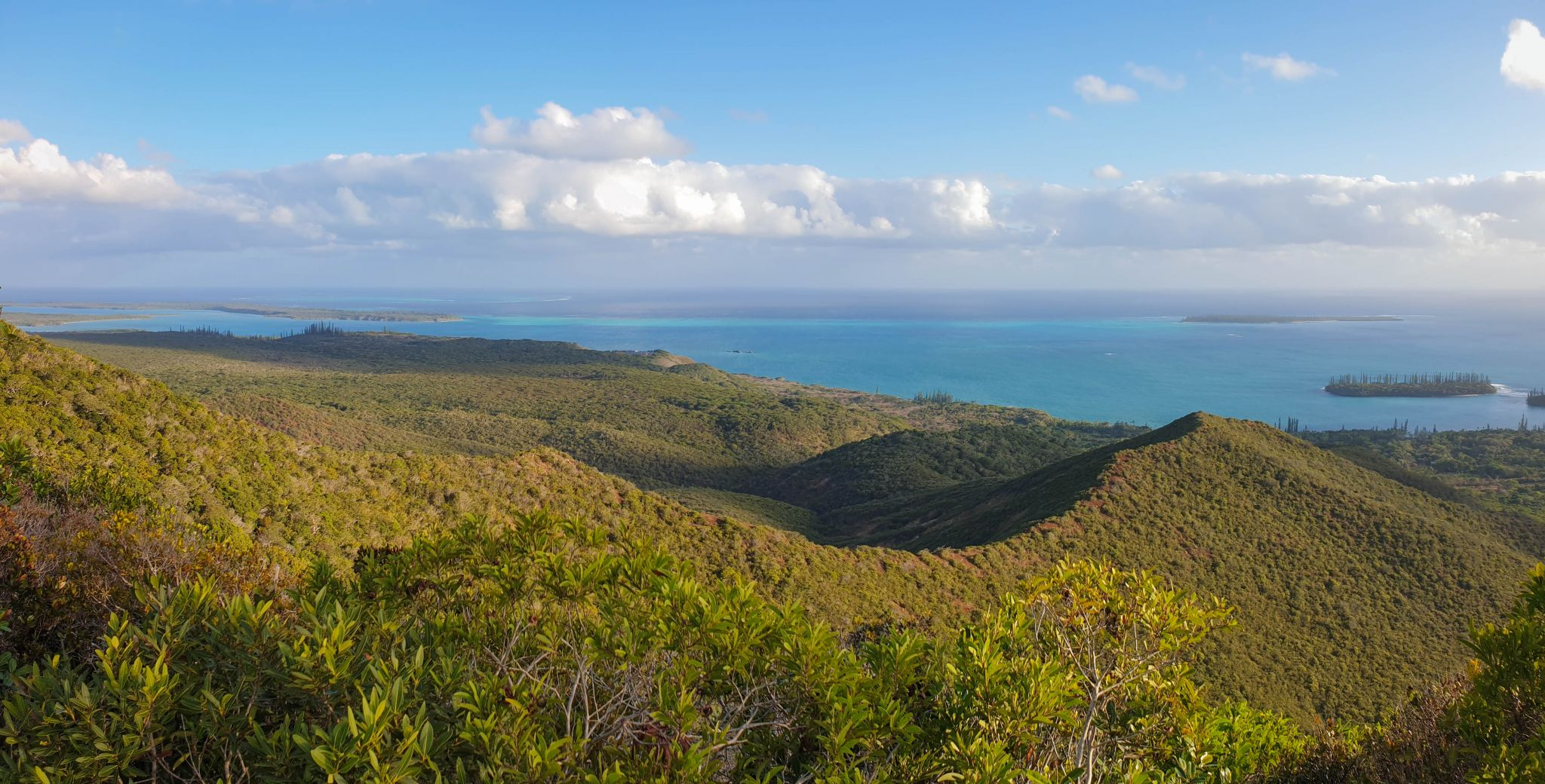 View from Mount N'Ga, Pins Island, New Caledonia