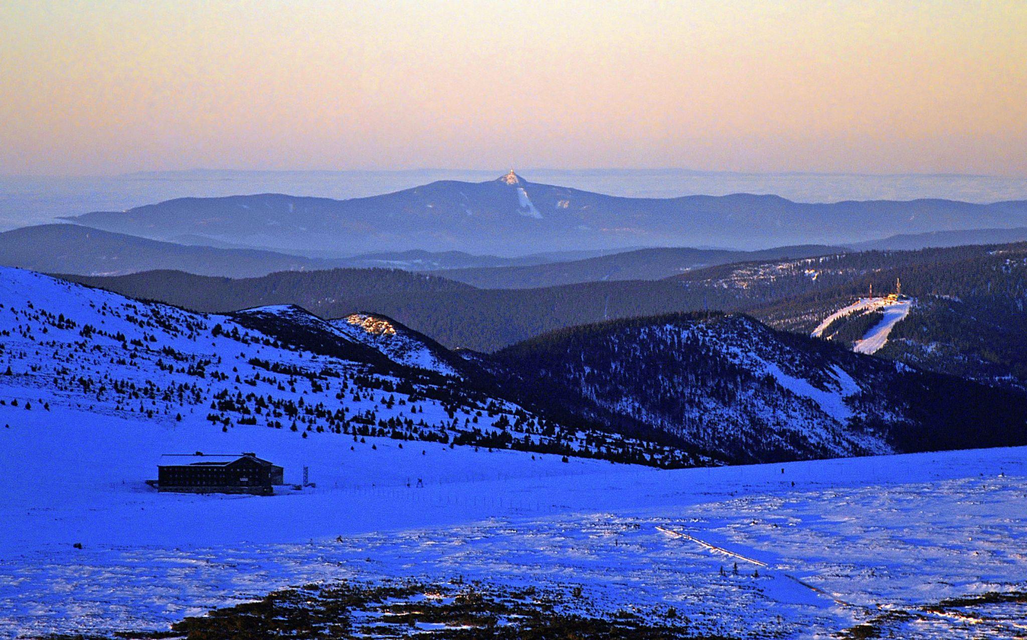 West of Snezka mountain, Poland
