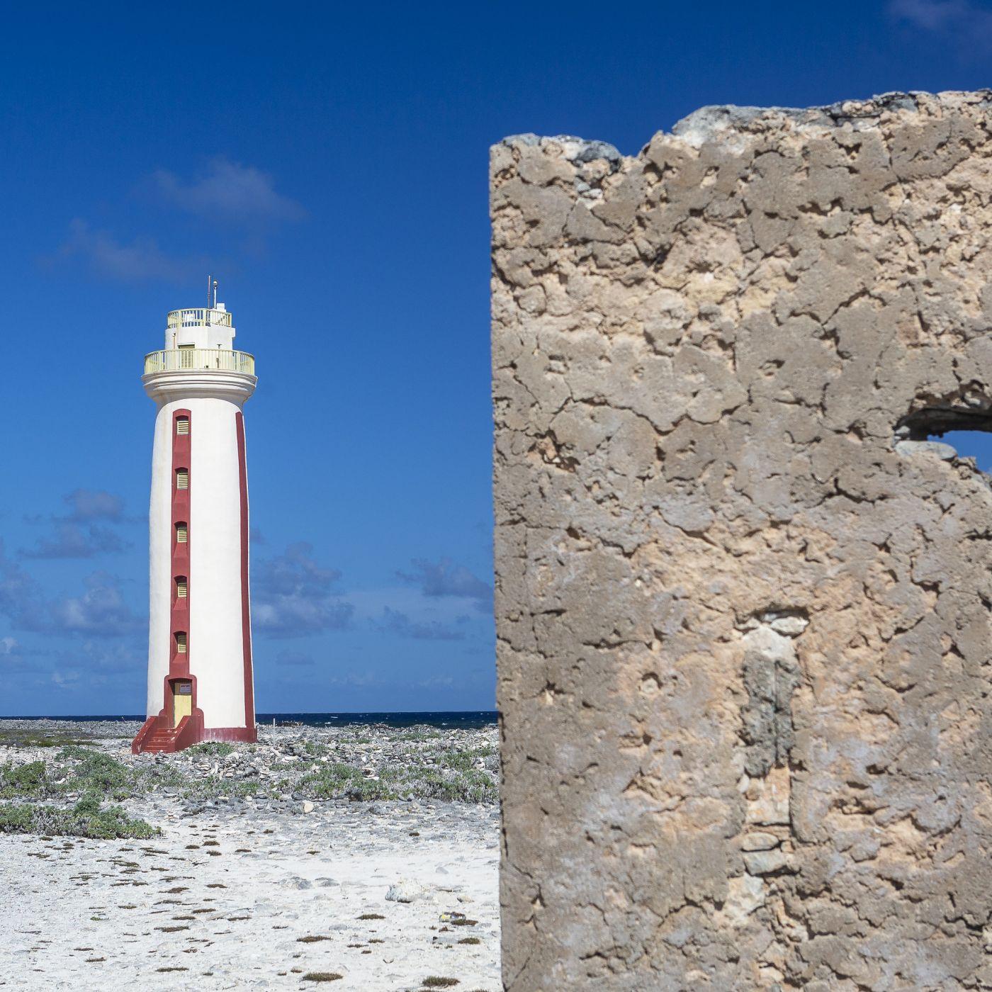 Willemstoren Lighthouse, EEG Boulevard, Bonaire