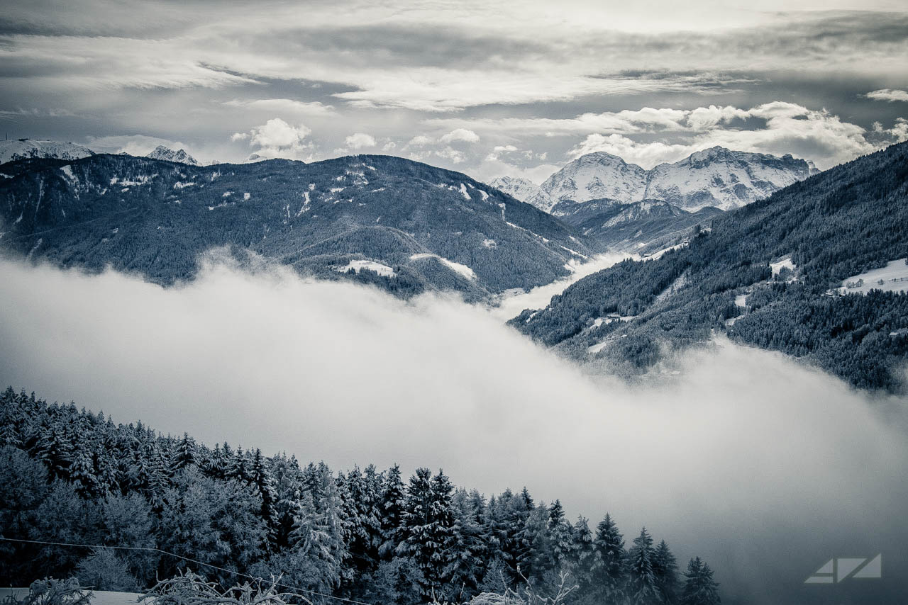 Winter atmosfere, Italy