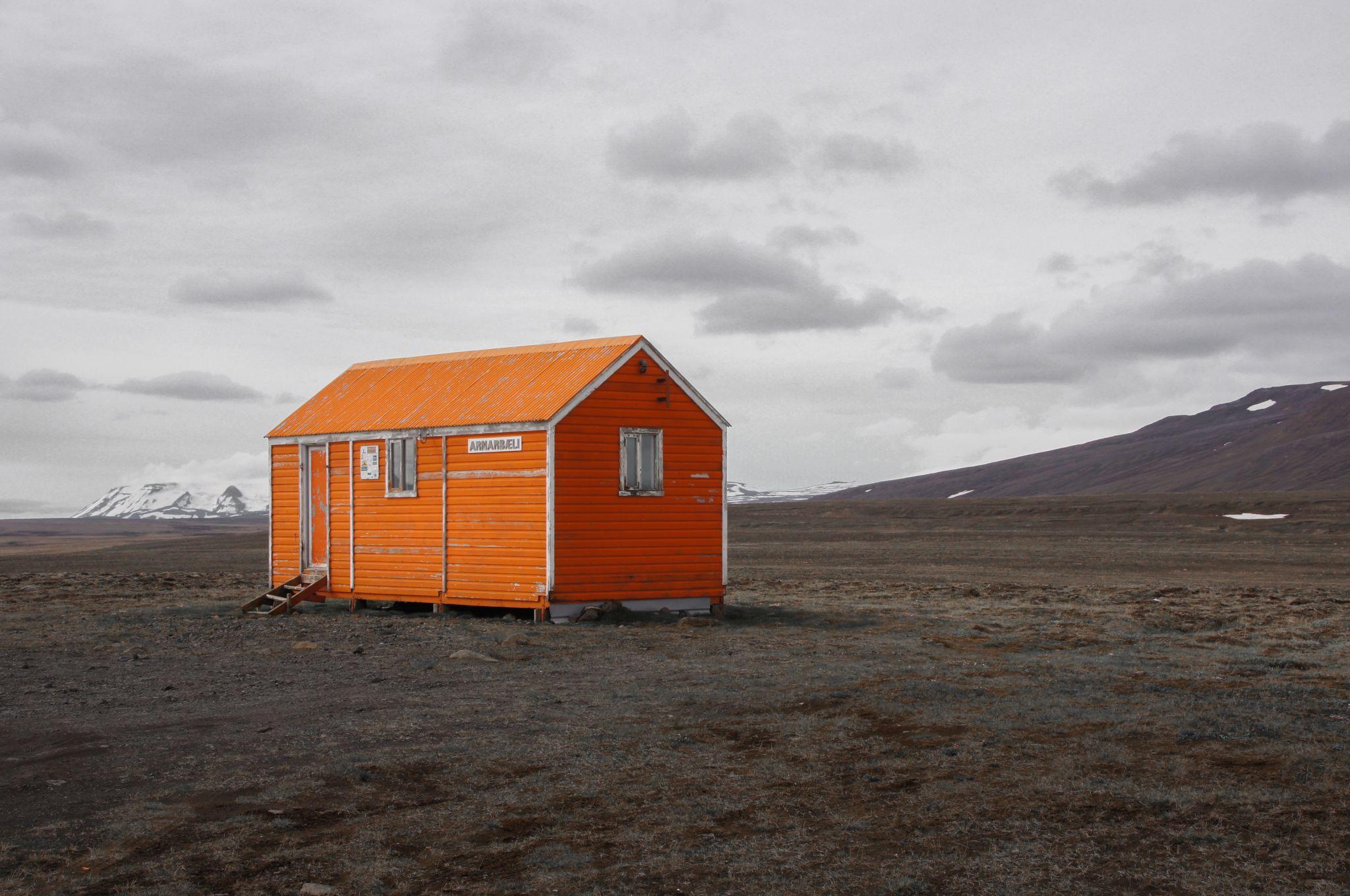 Arnarbaeli Rescue Hut, Iceland