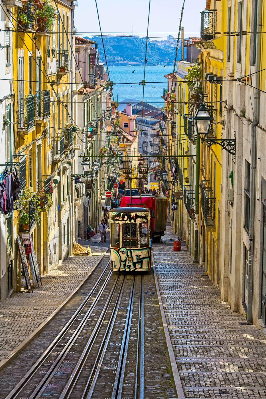 Ascensor da Bica, Portugal
