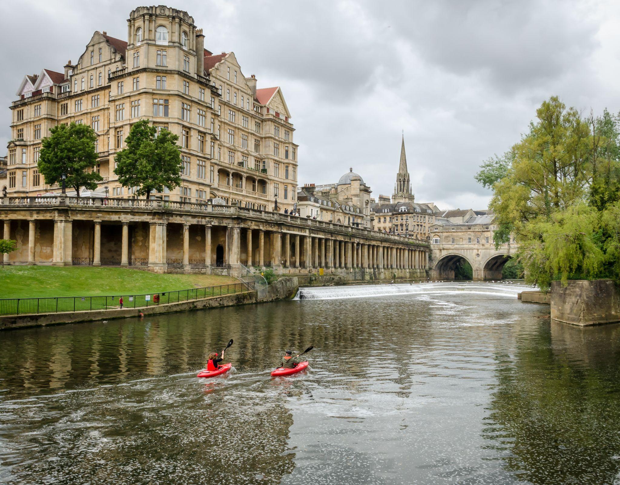 Avon River, Bath,, United Kingdom