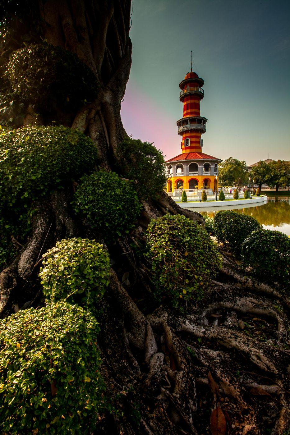 Bang Pa-In Royal Palace,Ho Withun Thasana Thailand, Thailand