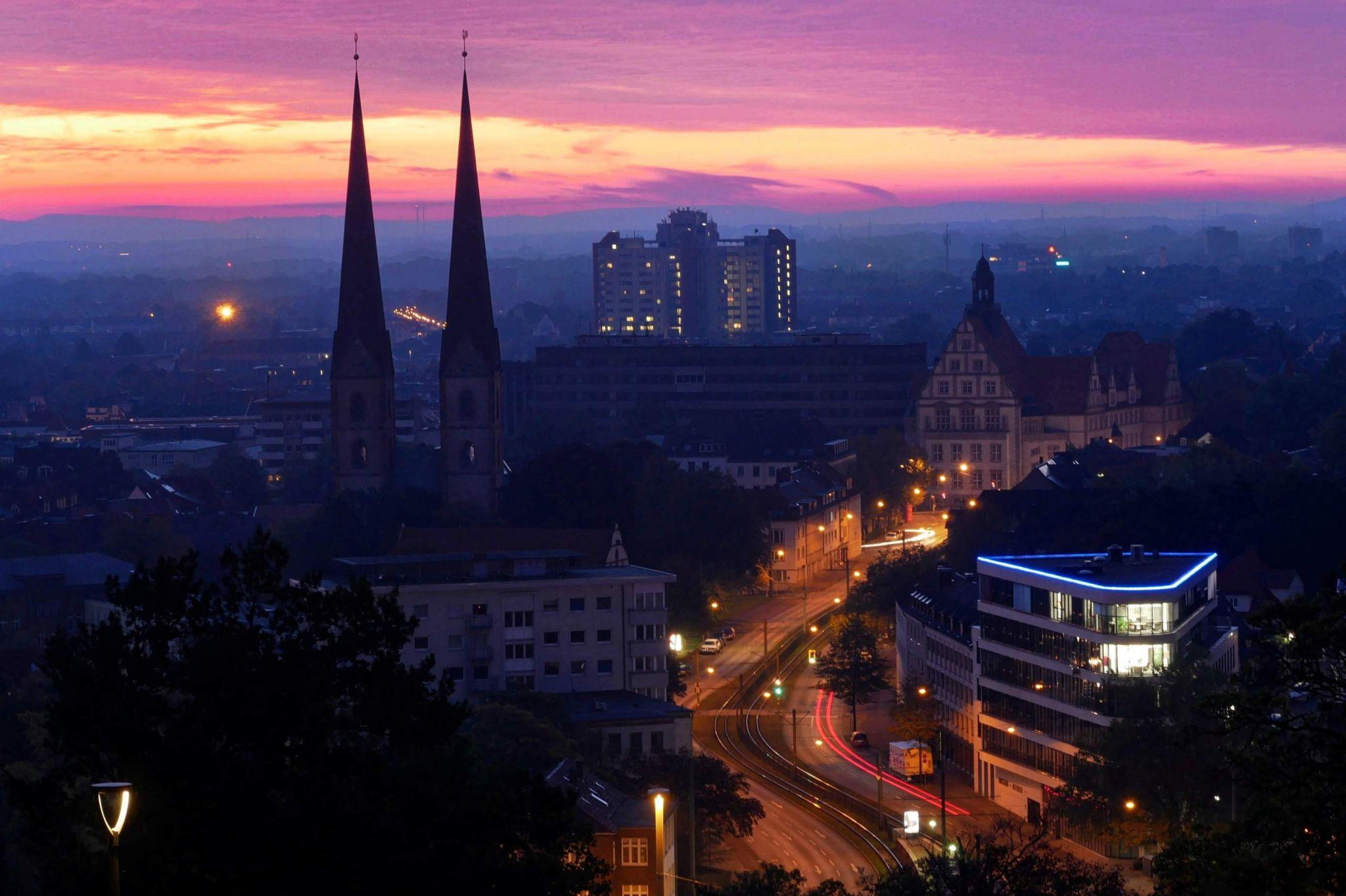 Bielefeld Aussicht Johannisberg, Germany