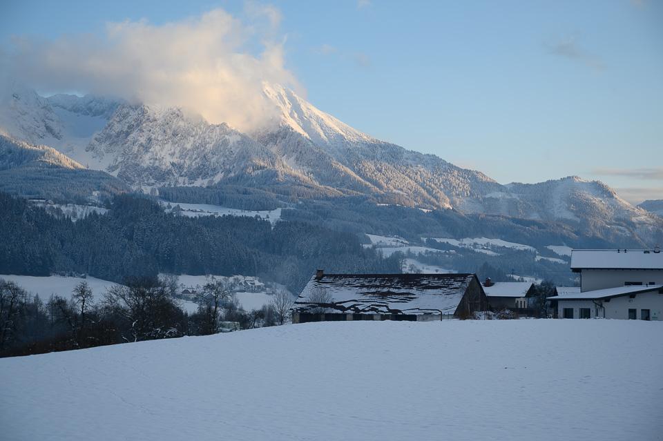 Blick auf den Pyhrn, Austria