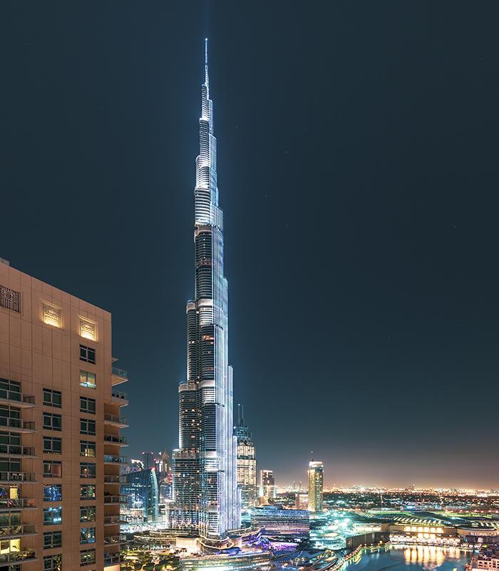 Burj Khalifa, United Arab Emirates