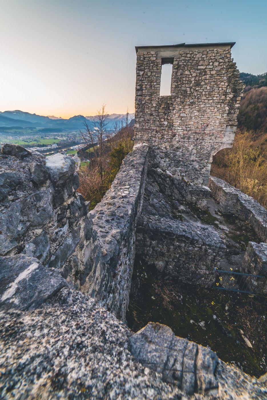 Caslte Ruin Gutrath, Austria