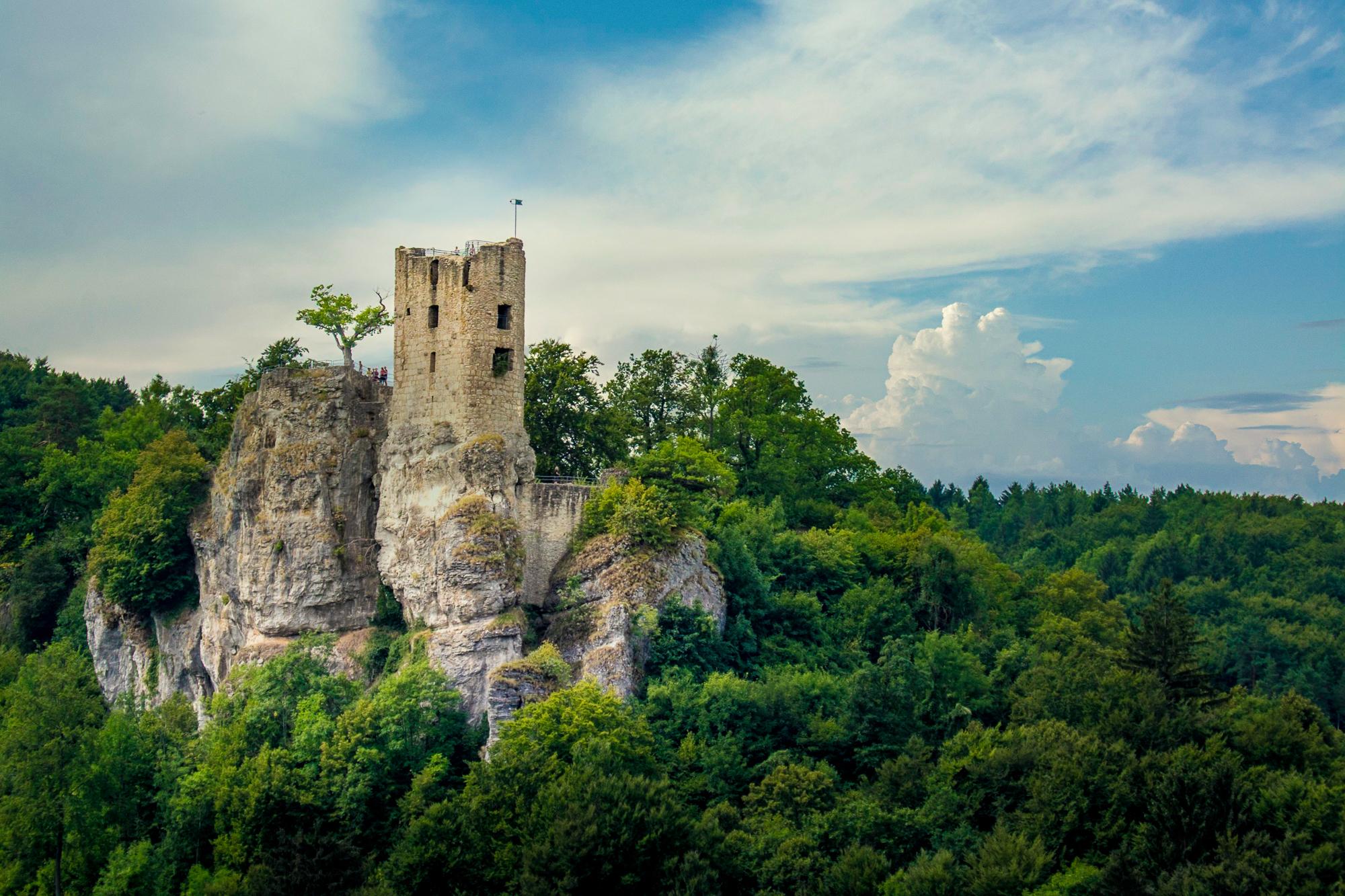 Castle Neideck view, Germany