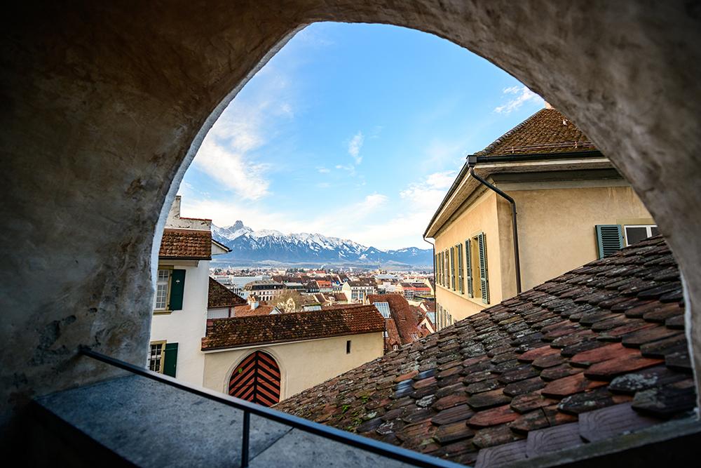 Castle Thun in Switzerland, Switzerland