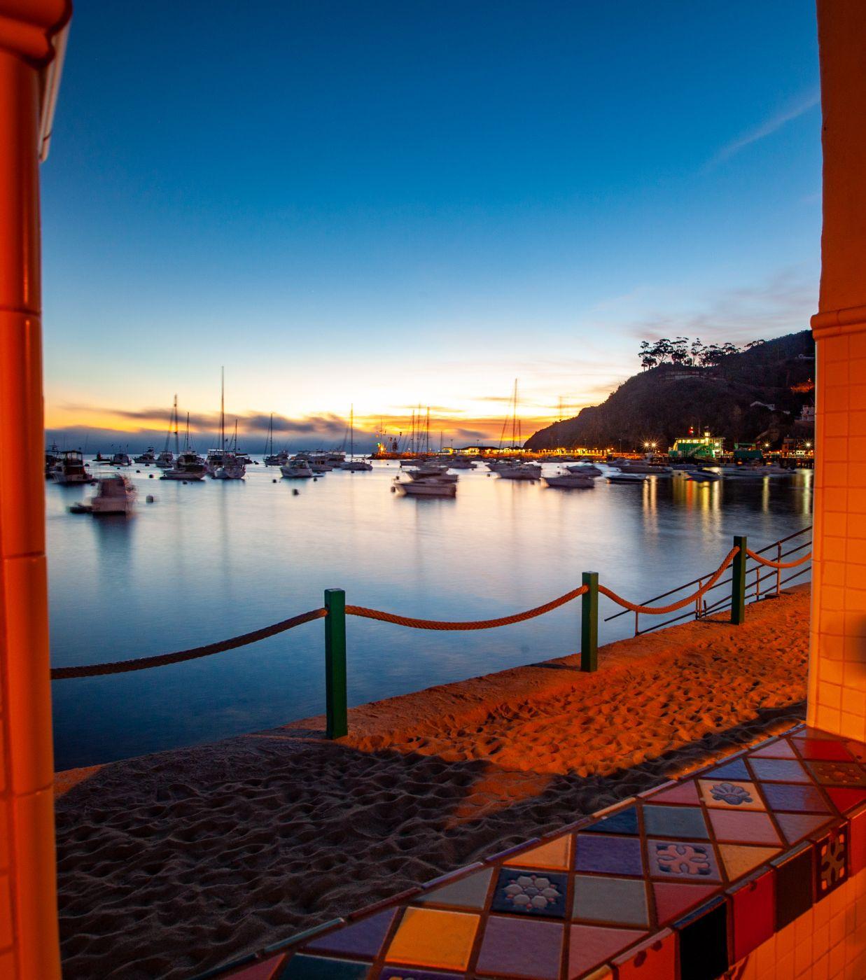 Catalina Island Sunrise, Avalon, California, USA