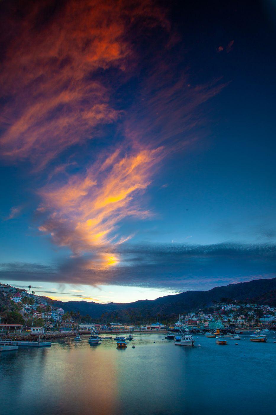 Catalina Island Sunset, USA