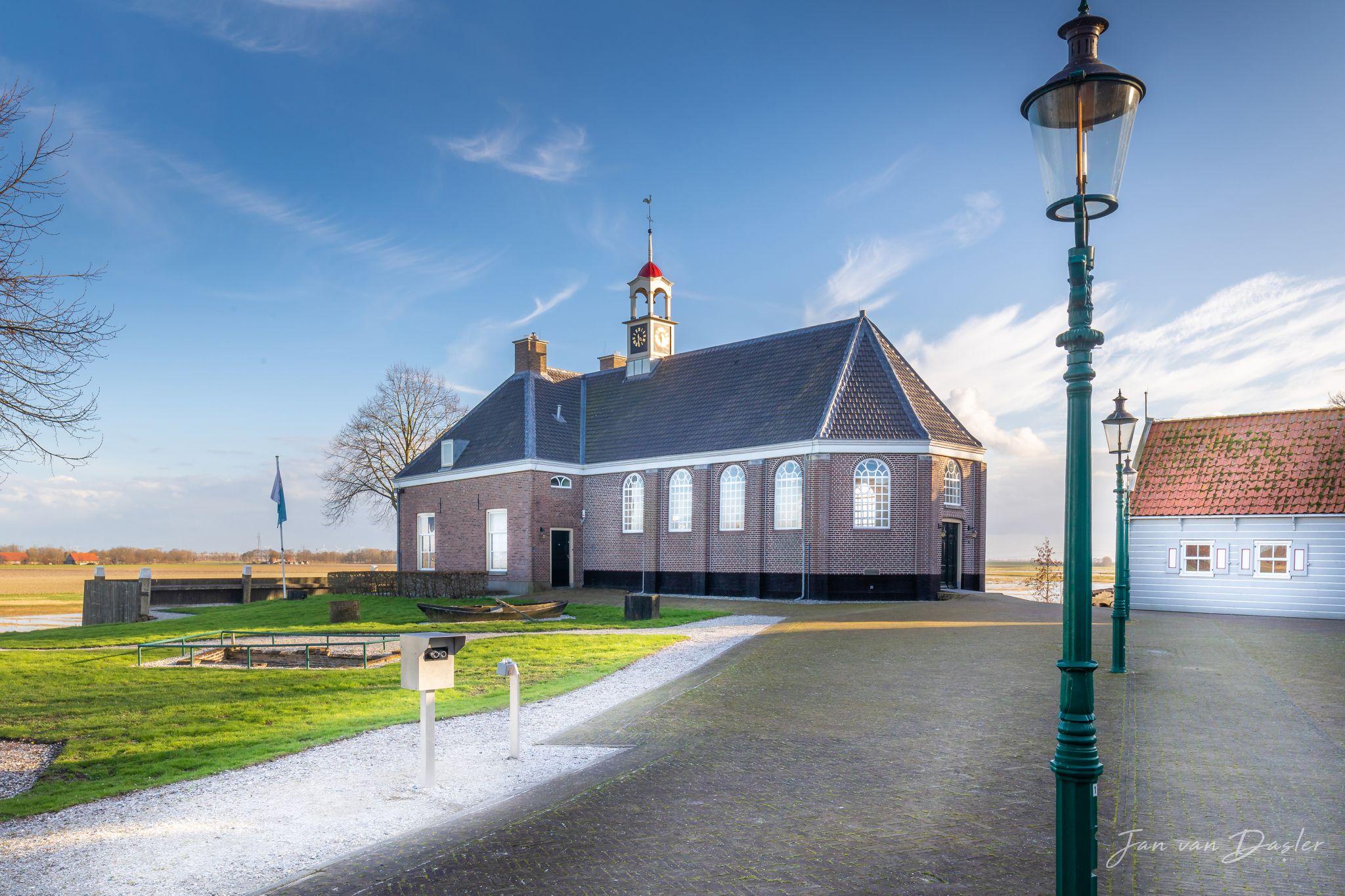 Church at Schokland, Netherlands