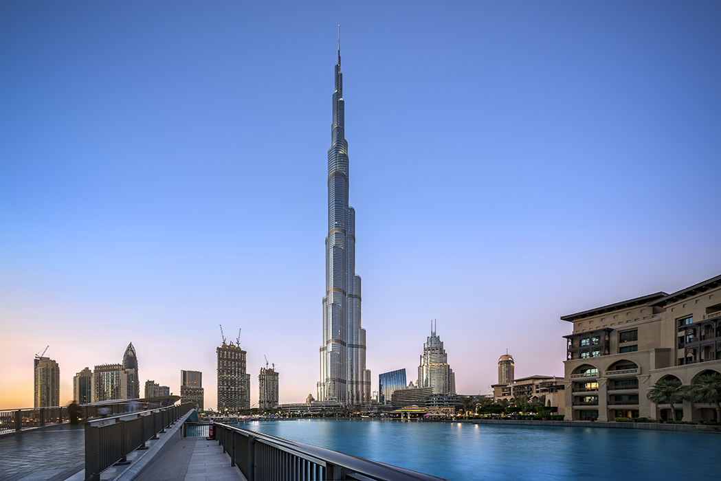 DUBAI BLUE HOUR, United Arab Emirates