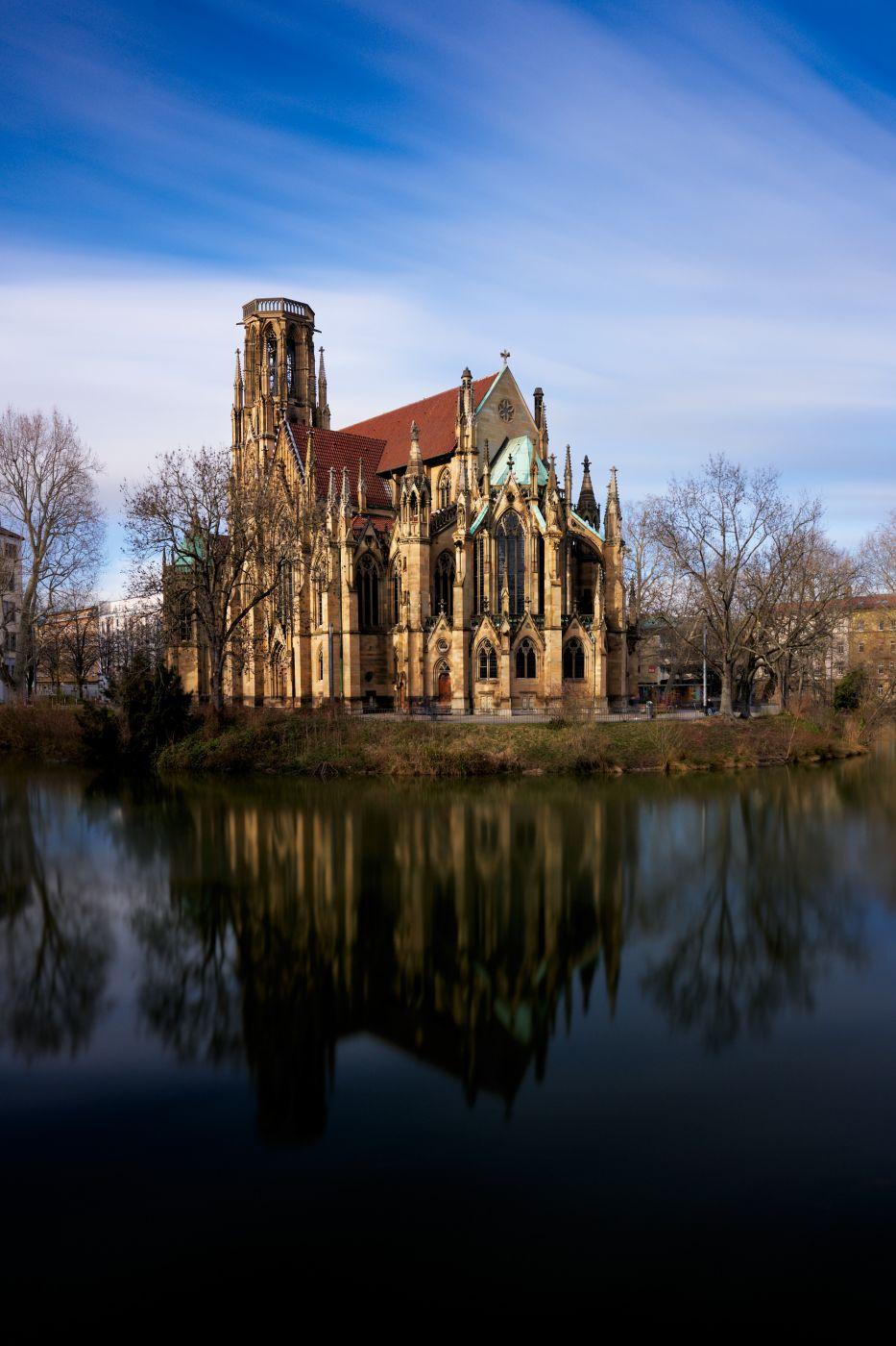 Feuersee / Johanneskirche, Germany