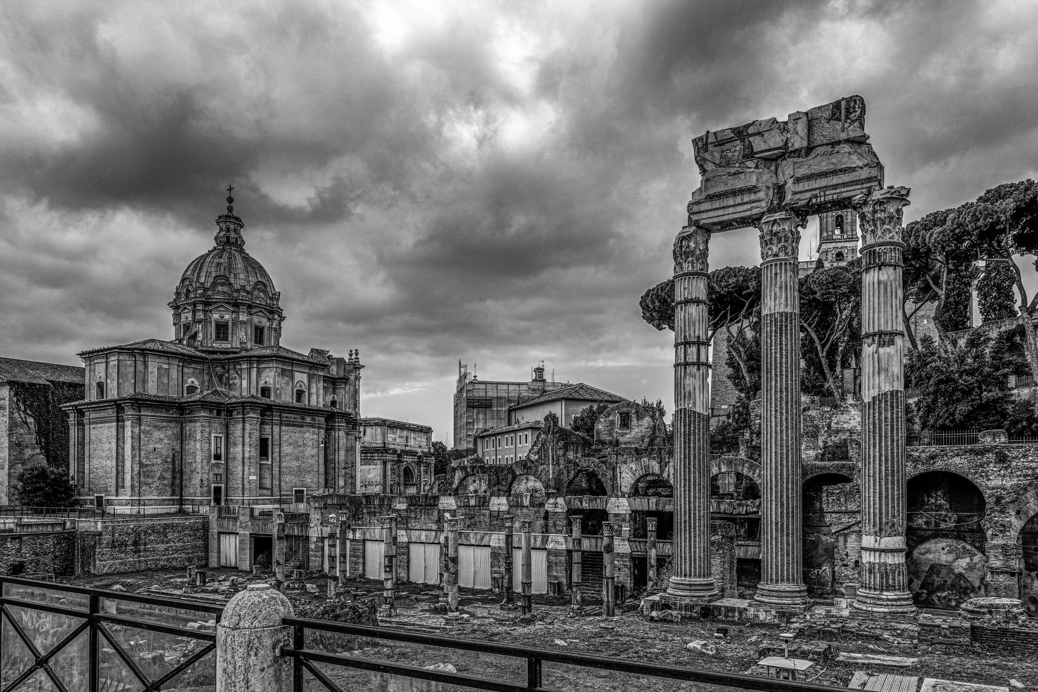 Forum of Caesar, Italy