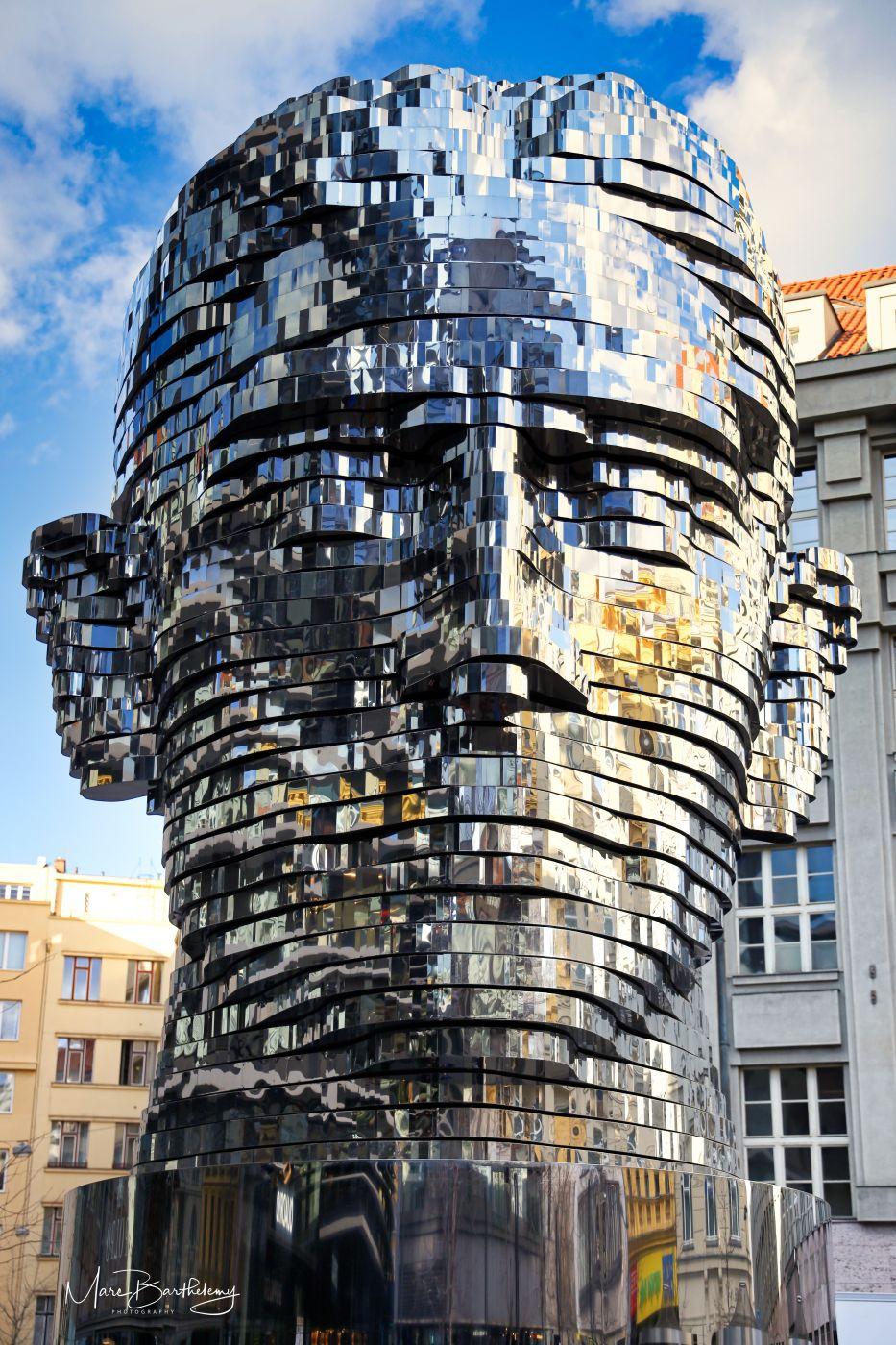 Franz Kafka Statue, Czech Republic