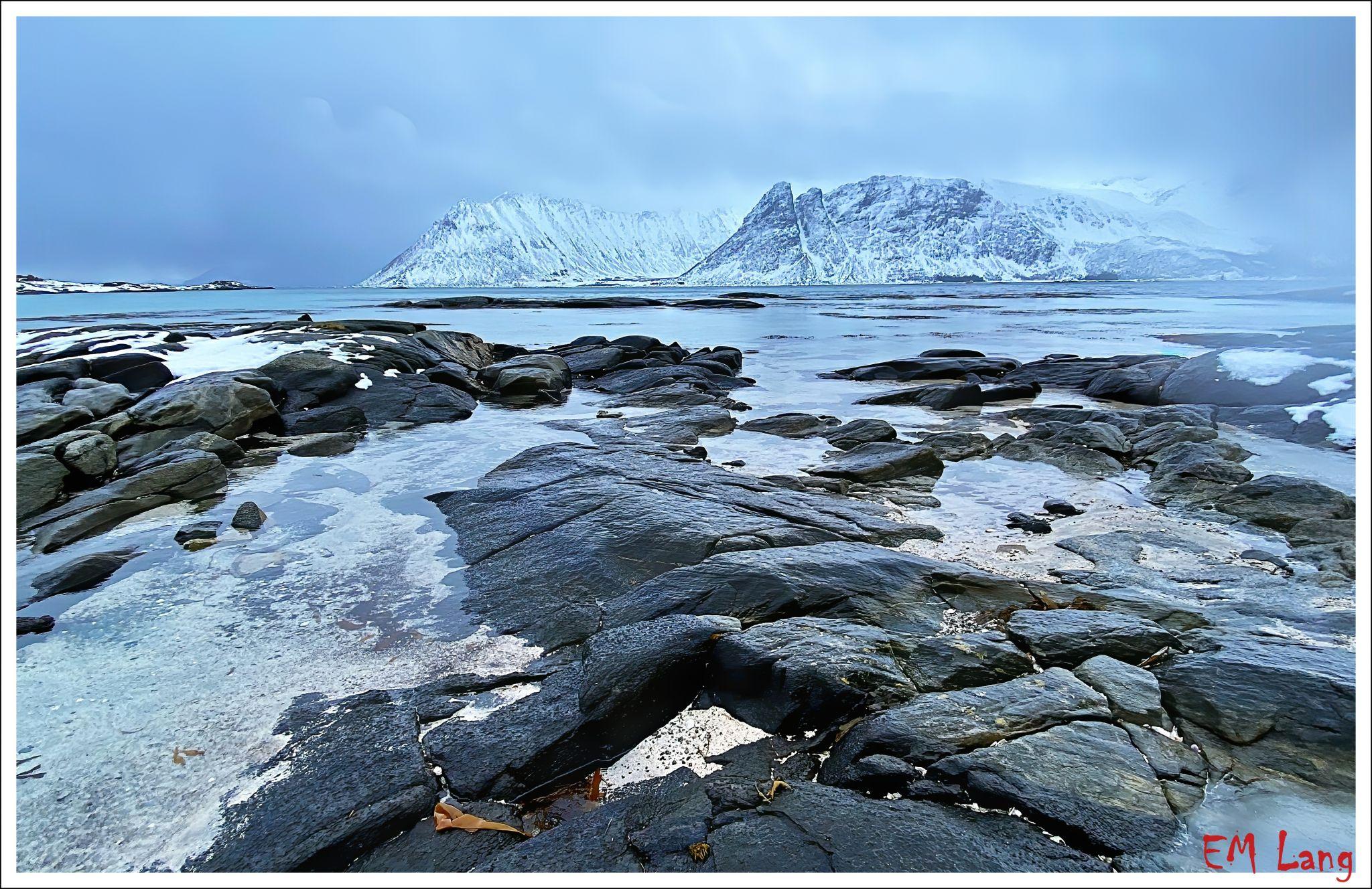 Gimsoy Beach, Norway