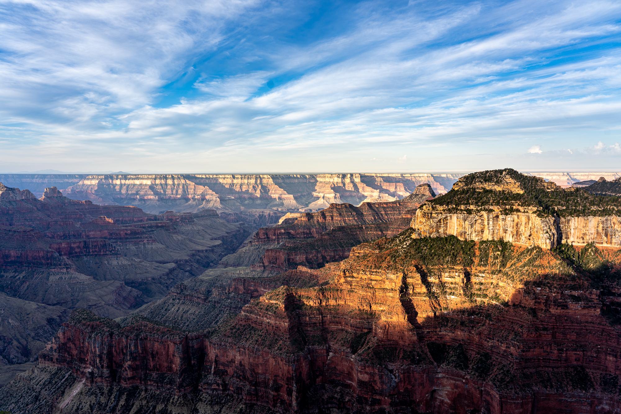 Grand Canyon North Rim Bright Angel Point, USA
