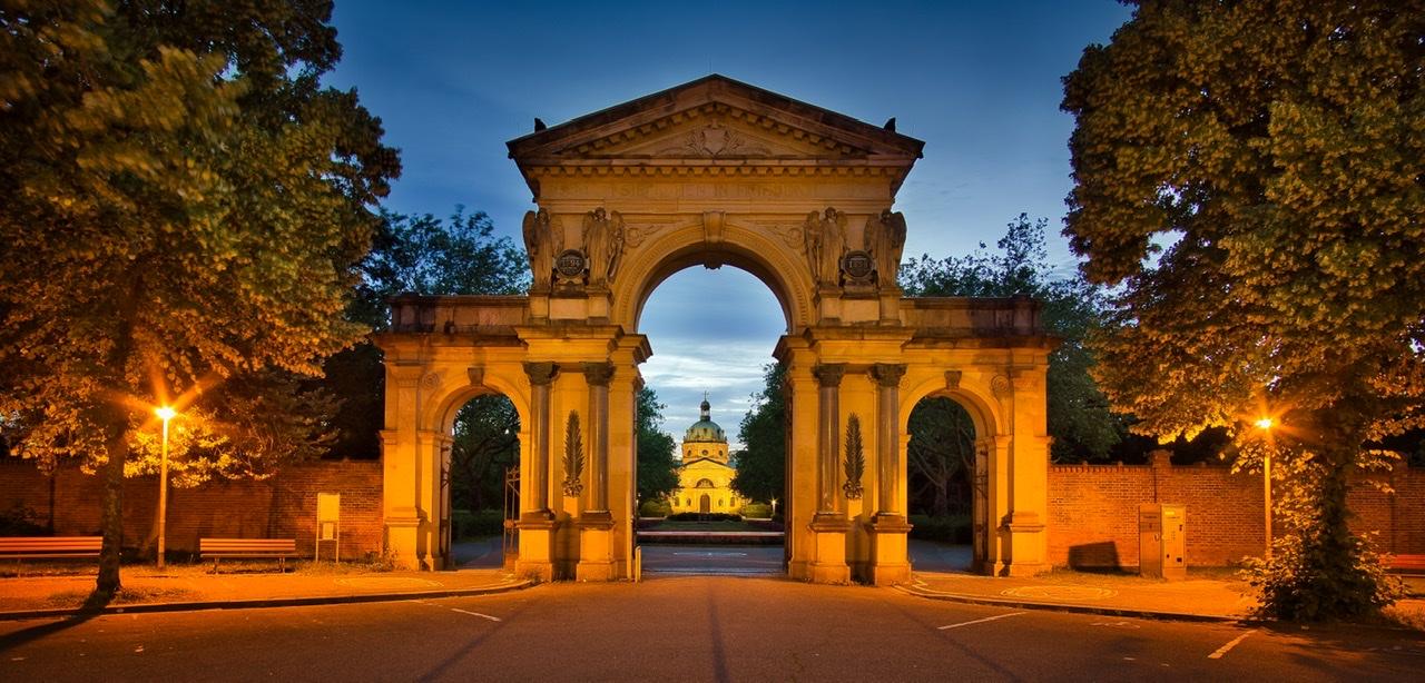 Hauptfriedhof, Germany