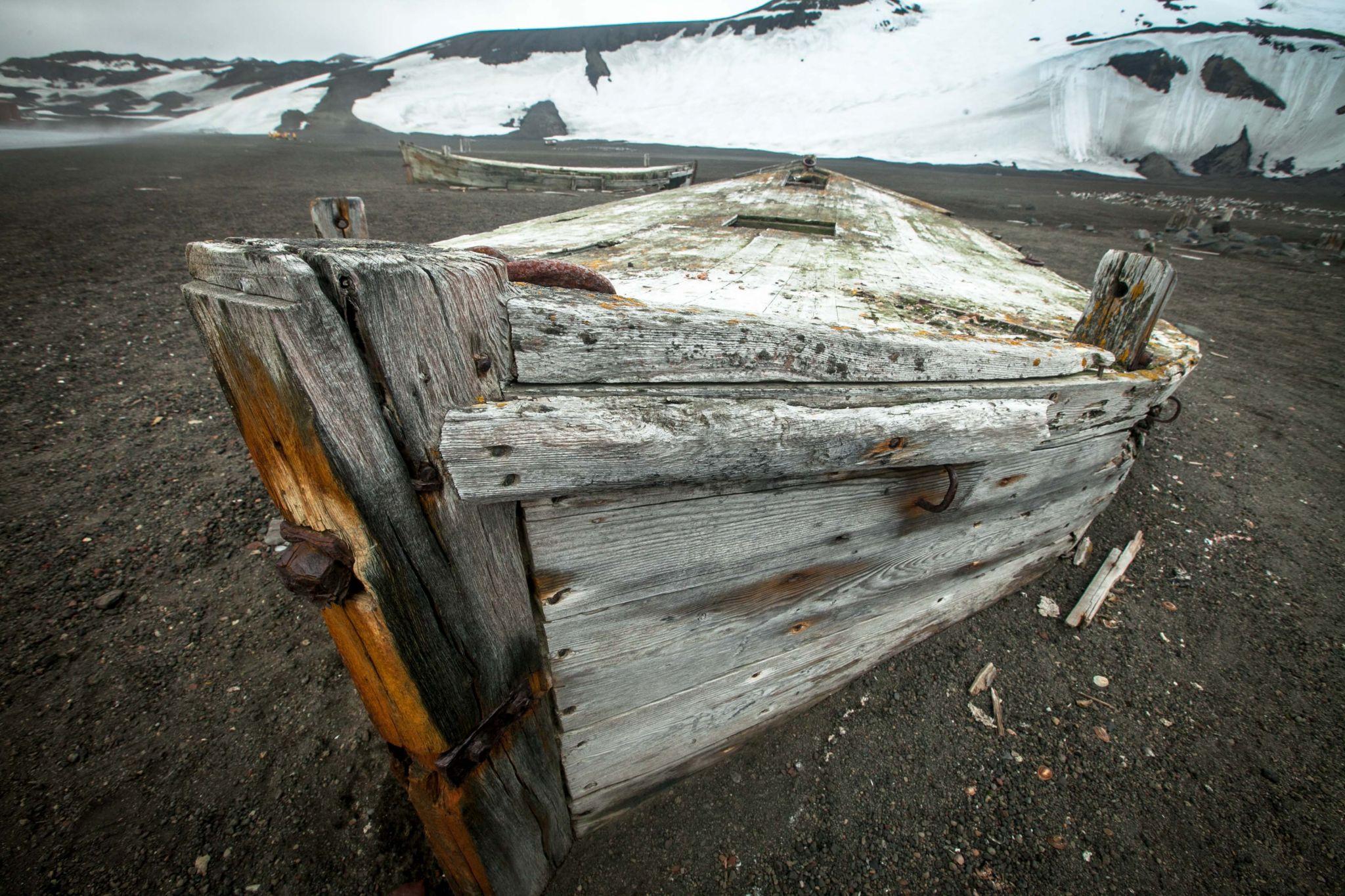Hektor Whaling Station, Deception Island, Antarctica, Antarctica