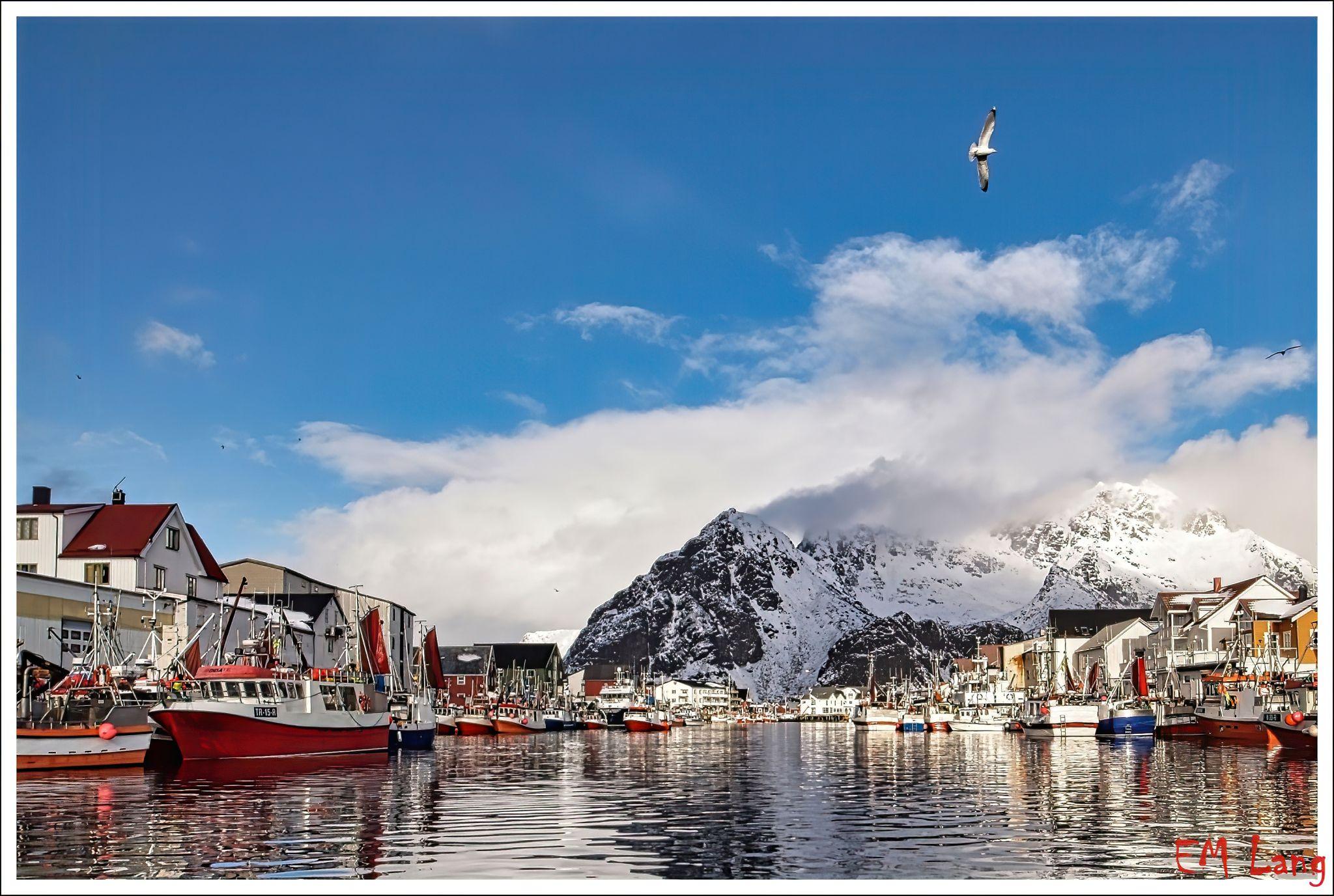 Henningsvaer fishing village, Norway