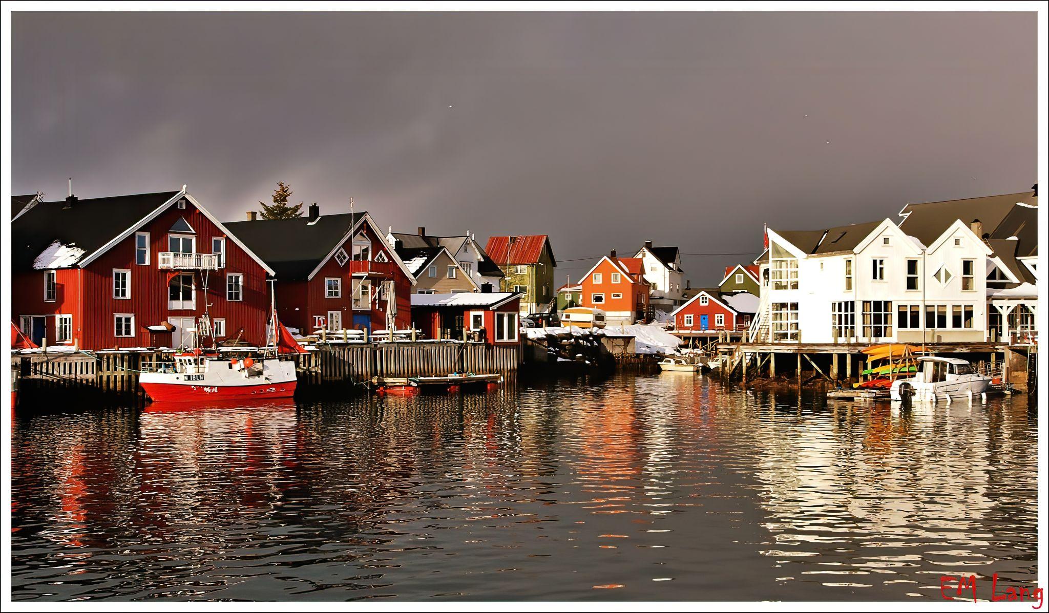 Henninvsvaer Fishing Village, Norway