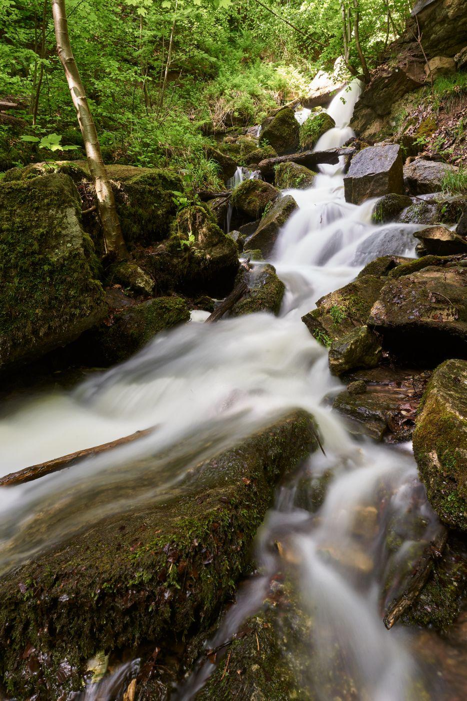 Heslacher Wasserfälle, Germany
