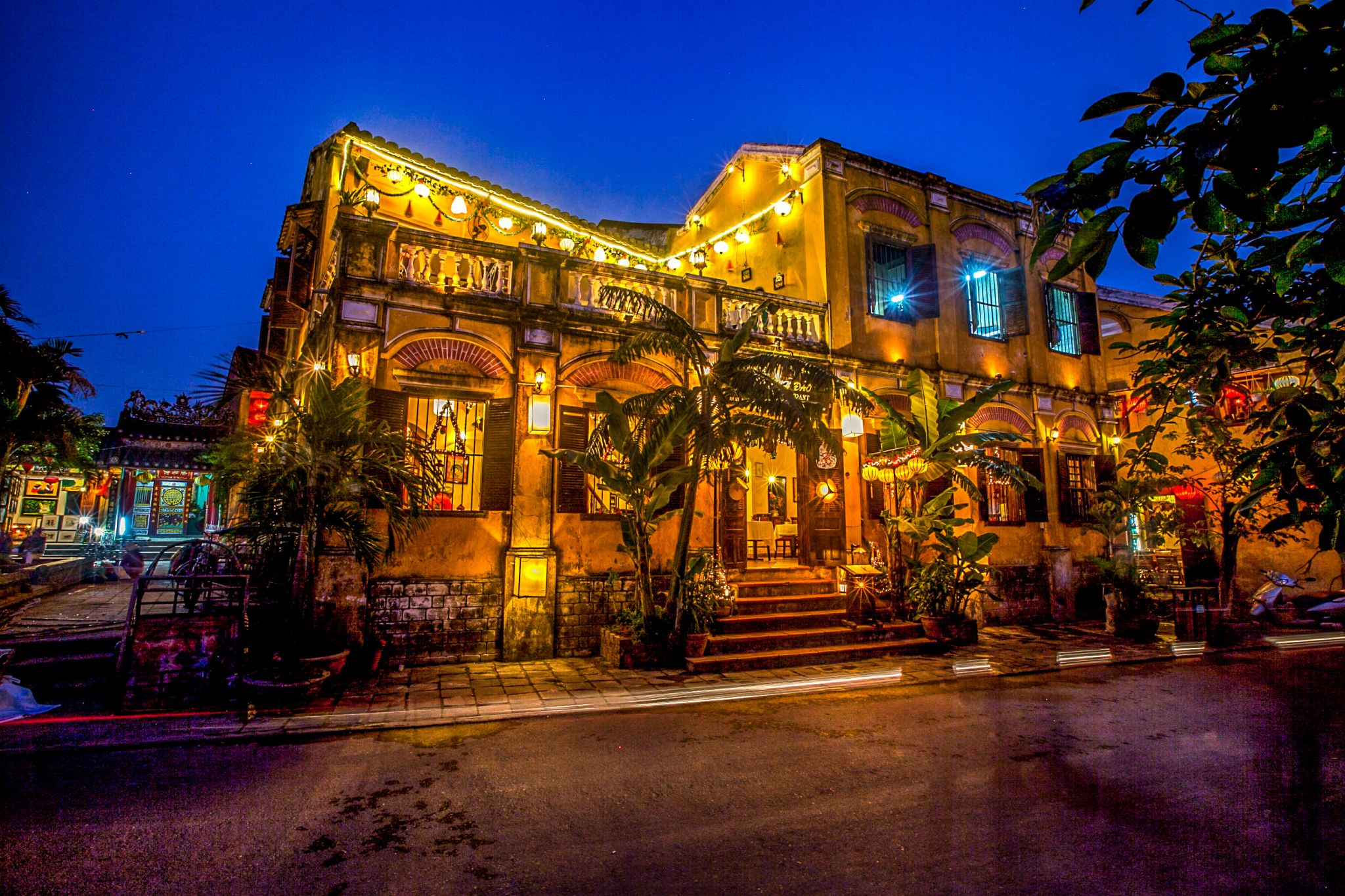 Hoi An Ancient Town at night, Vietnam